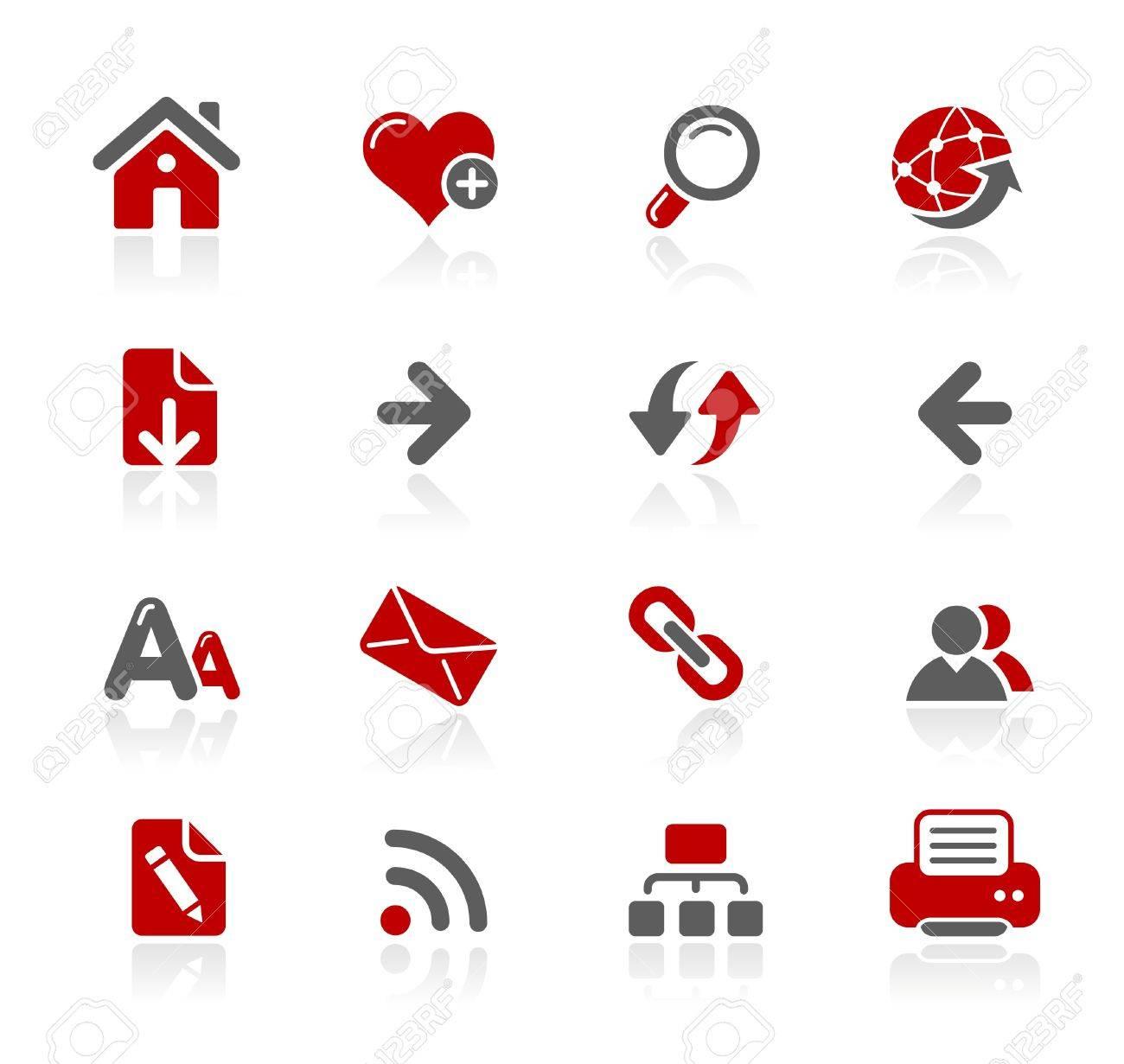 Web Navigation -- Redico Series Stock Vector - 14202687