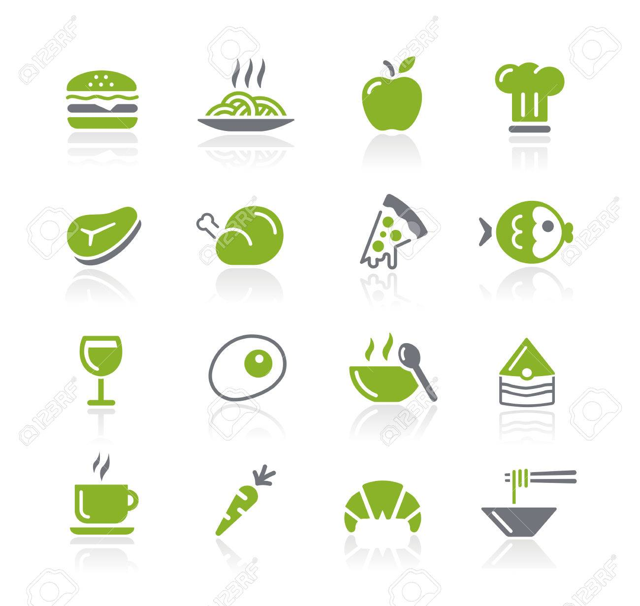 Food Icons - Nature Series Stock Vector - 22536799