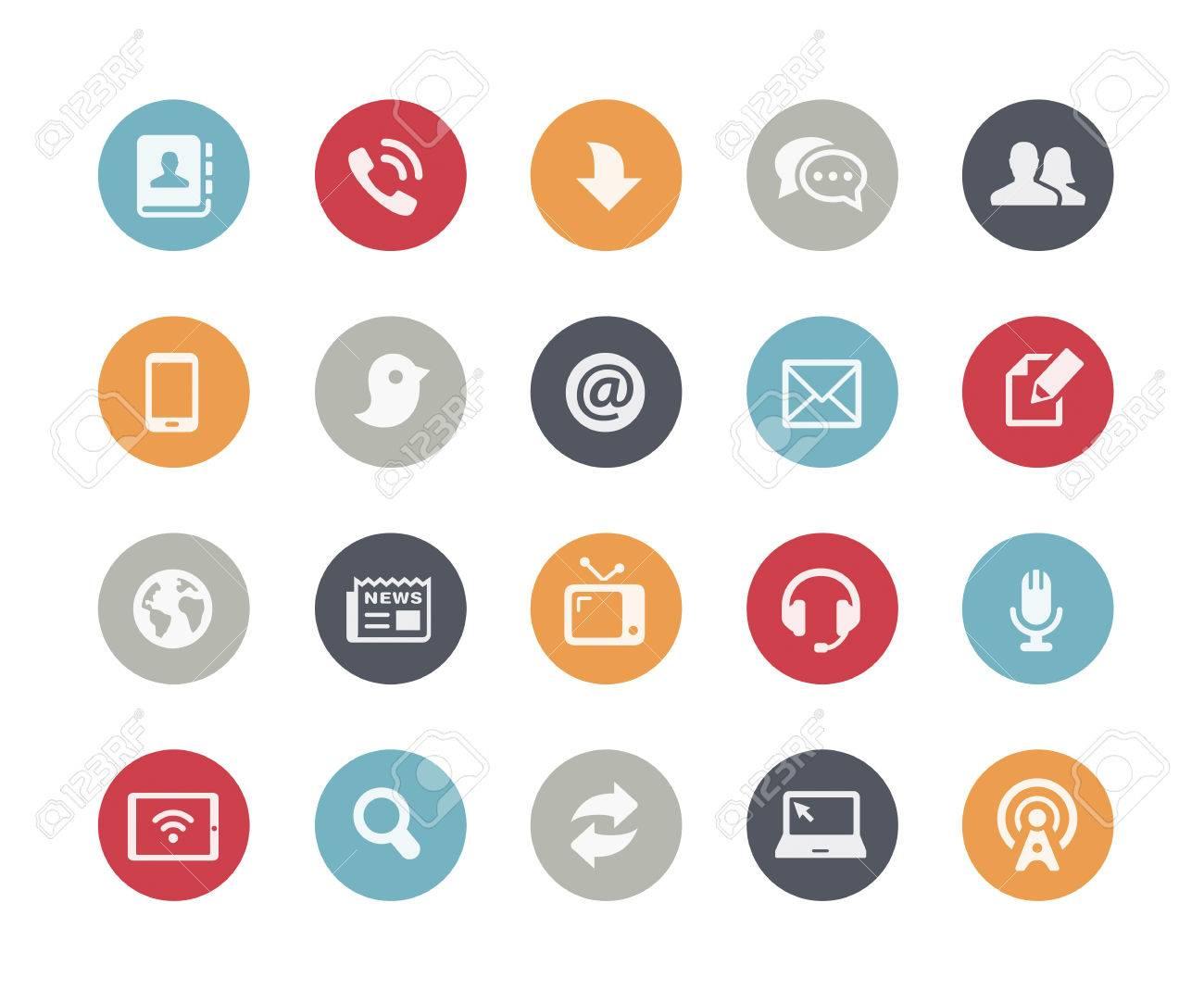 Media Communications Icons Classics Series - 40933639
