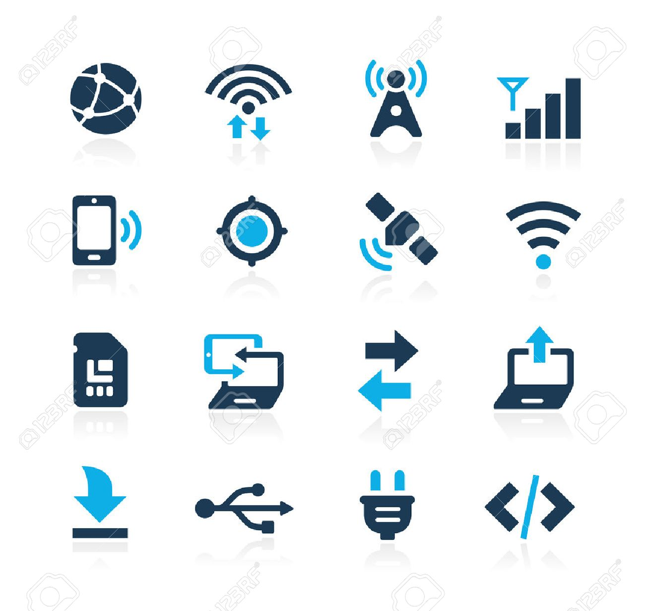 Connectivity Icons Azure Series - 41848522
