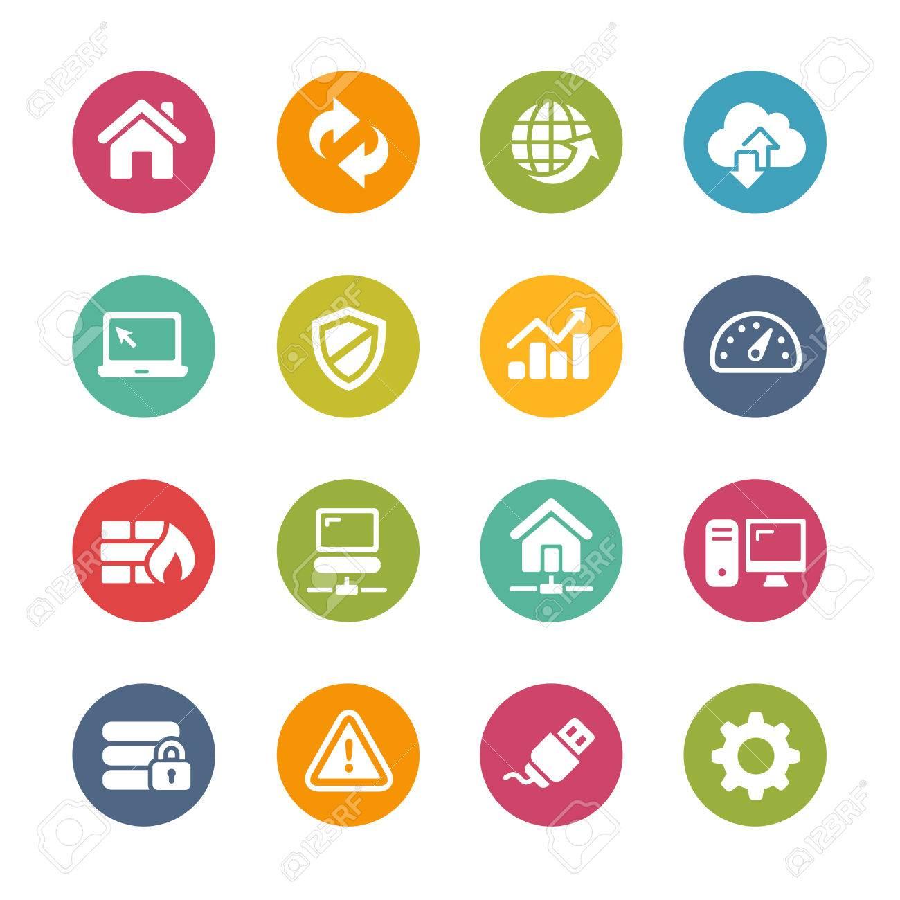 Web Developer Icons - Fresh Color Series - 51245203
