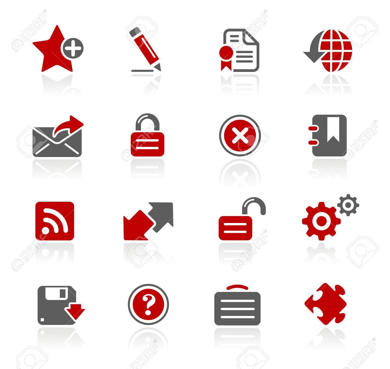 Web 20 icons redico series royalty free cliparts vectors and web 20 icons redico series stock vector 71628927 sciox Choice Image