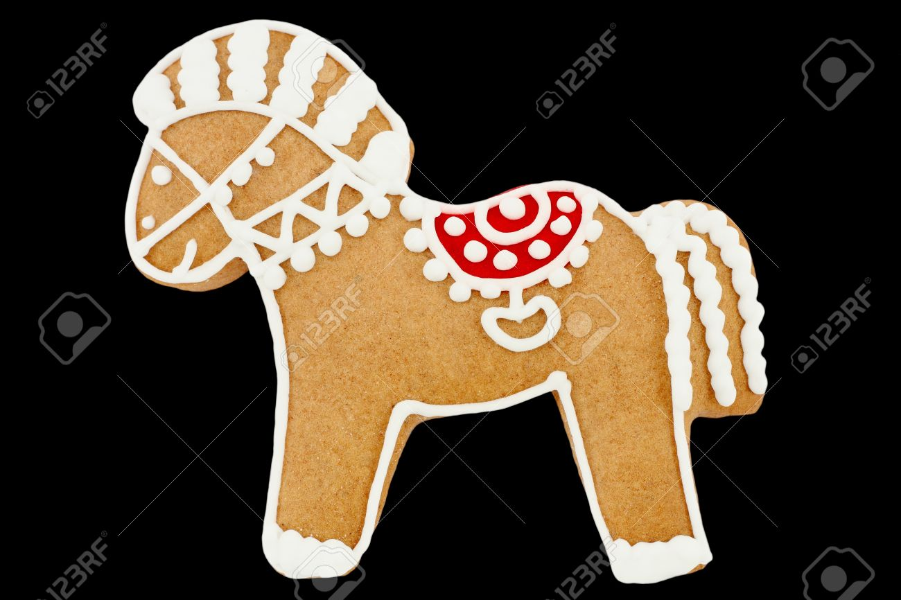 Gingerbread horse Stock Photo - 9349984