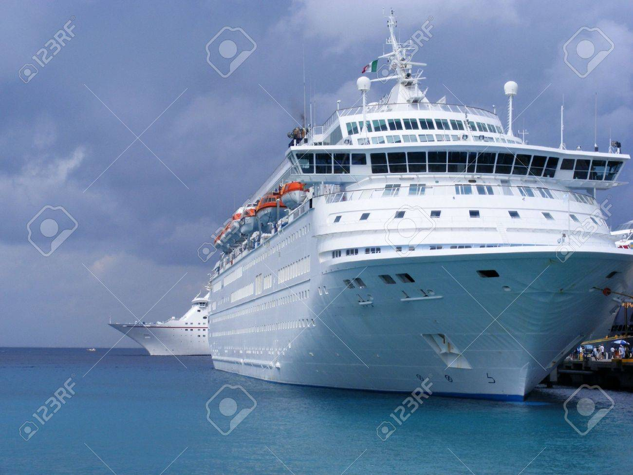 Cruise Ships Stock Photo - 2416350