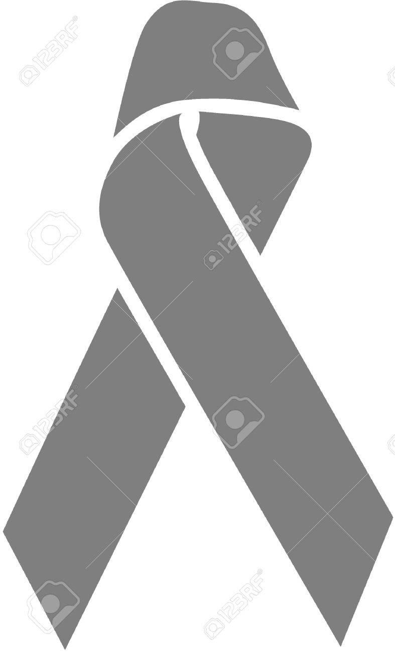 Dark gray awareness ribbon lung cancerdisease mental illness dark gray awareness ribbon lung cancerdisease mental illness ms parkinsons biocorpaavc Images