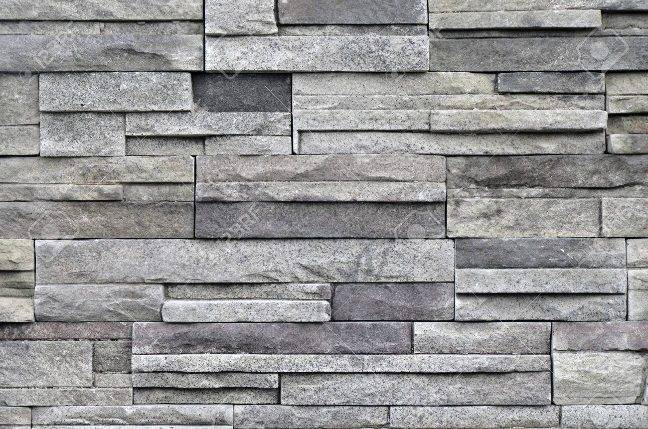 An Abstract Image Of Stacked Stone Texture