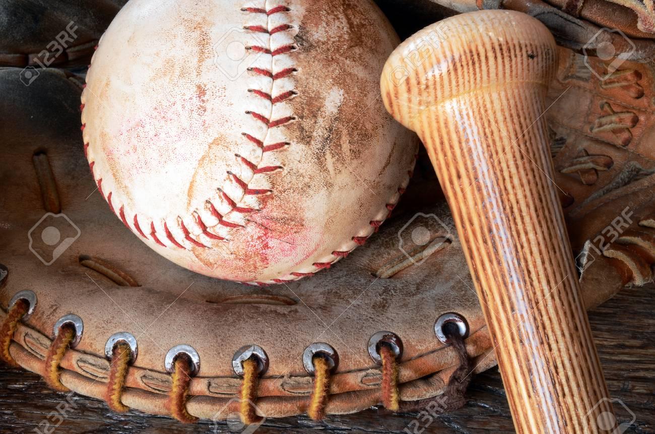 Dirty baseball Bat