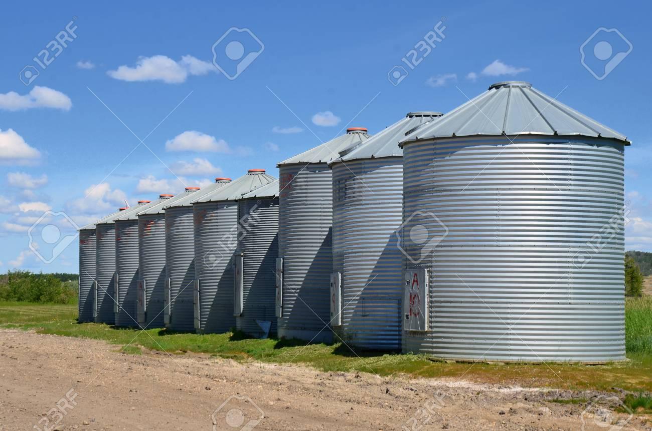 Steel Grain Storage Bins