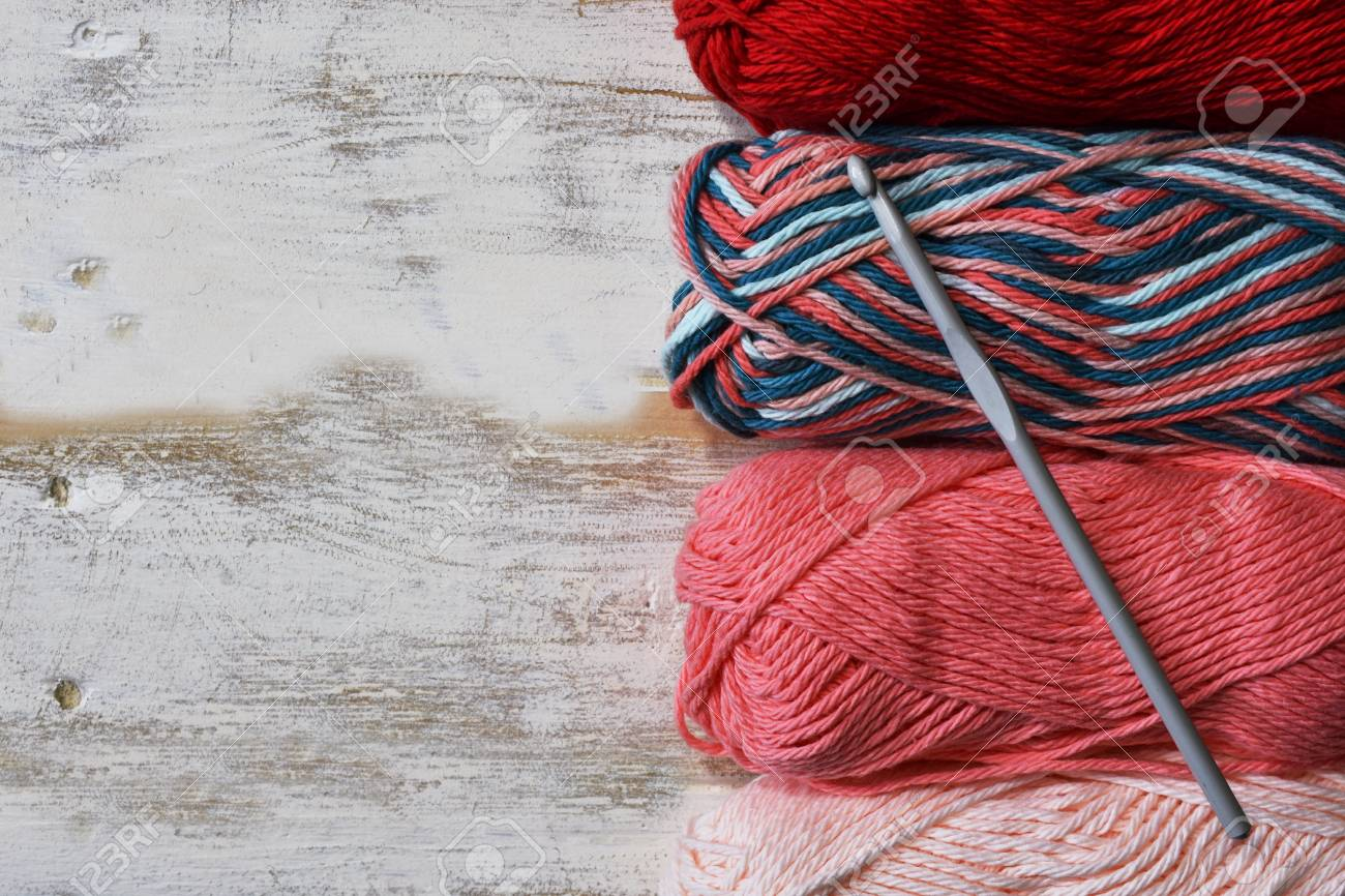 Crochet Yarn Background Stock Photo Picture And Royalty Free Image Image 95635378