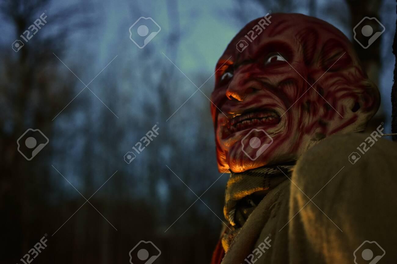 Creepy Halloween Monster - 130438960