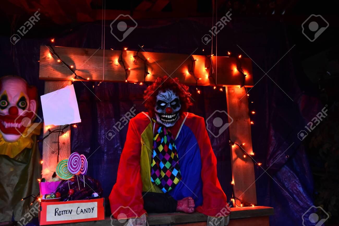 Creepy Halloween Monster - 132589872