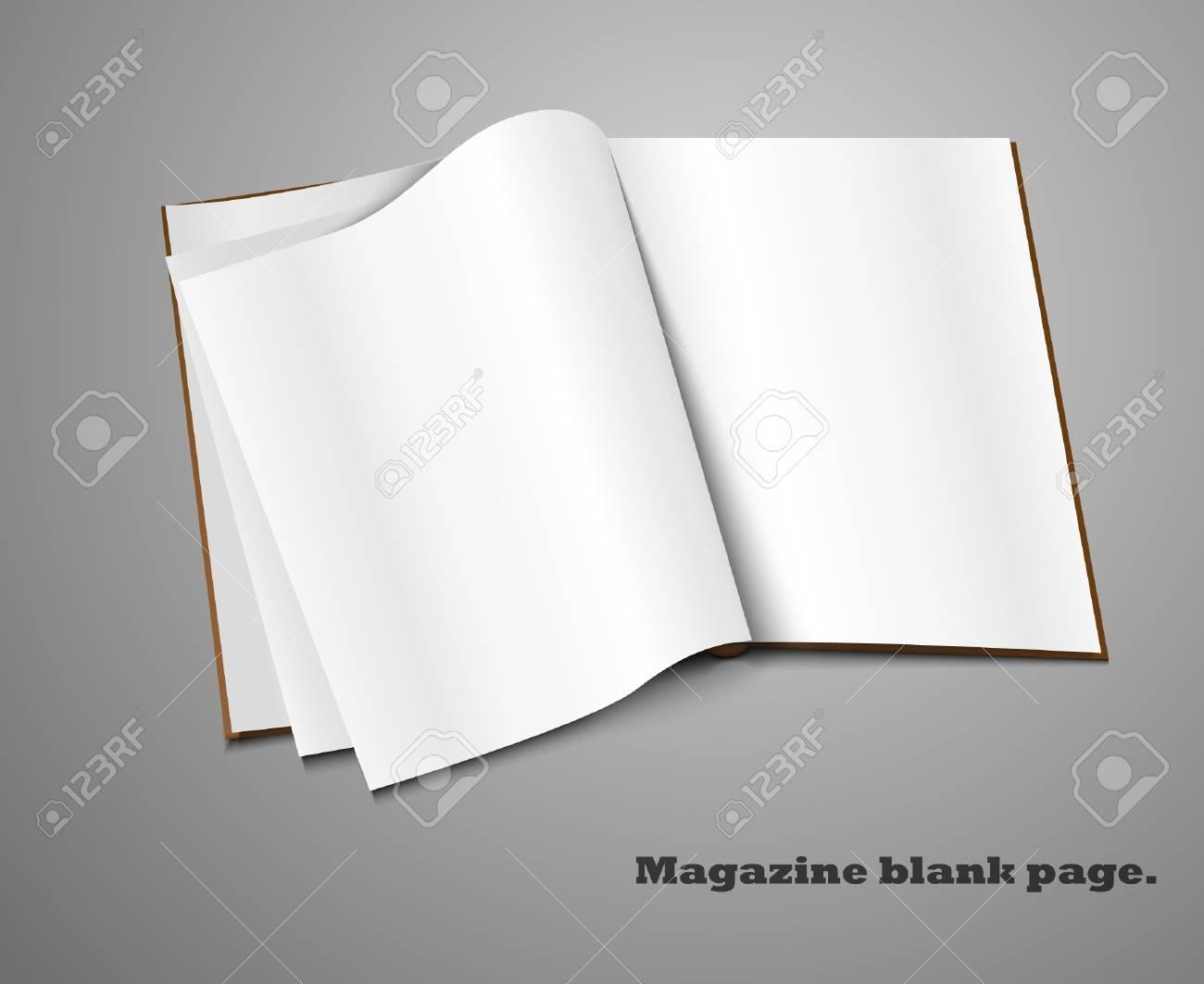 Realistic magazine set number four  Illustration on white background for design Stock Vector - 14127239