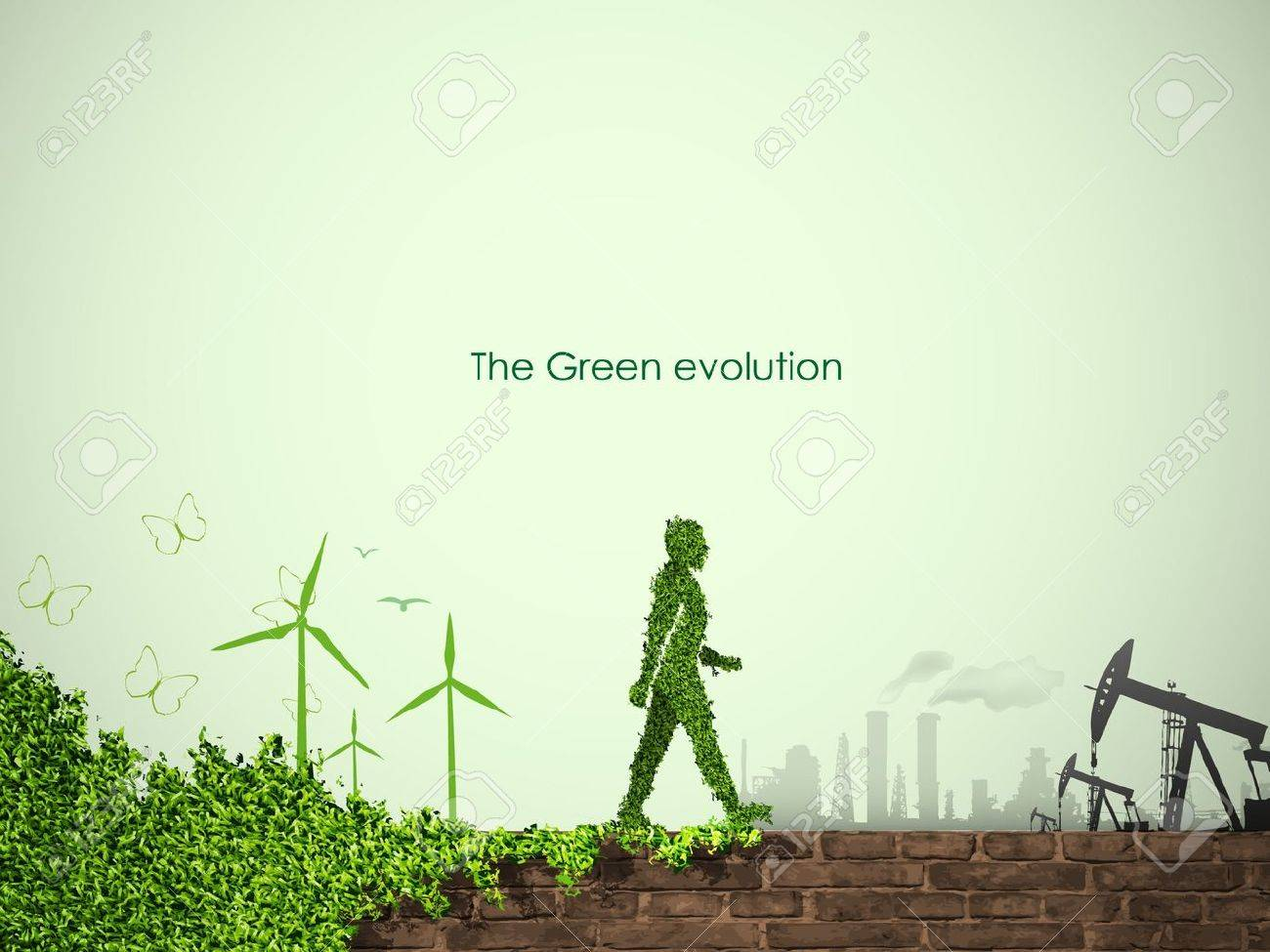 evolution of the concept of greening of the world - 14810036