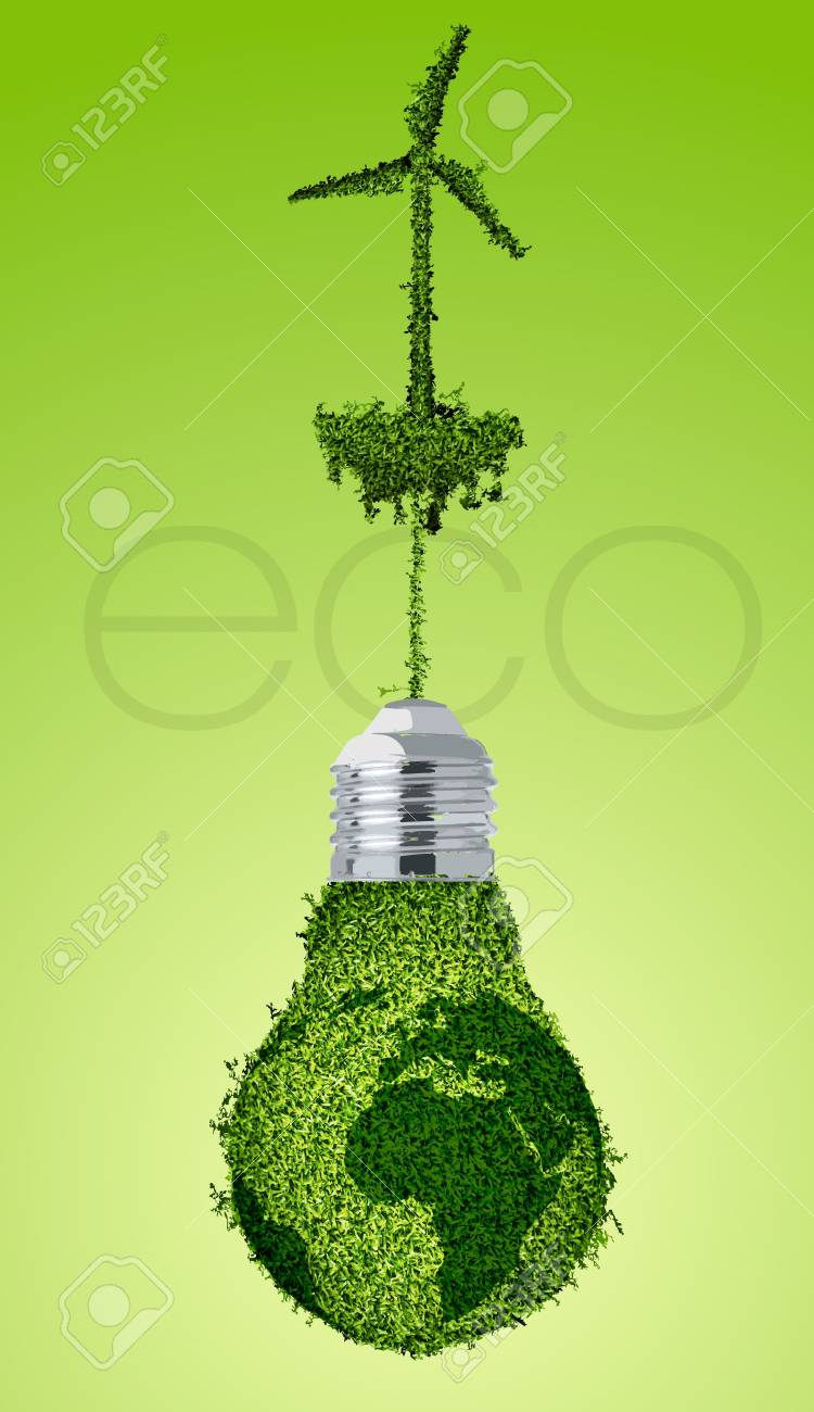 concept of clean, green energy Stock Vector - 15225667