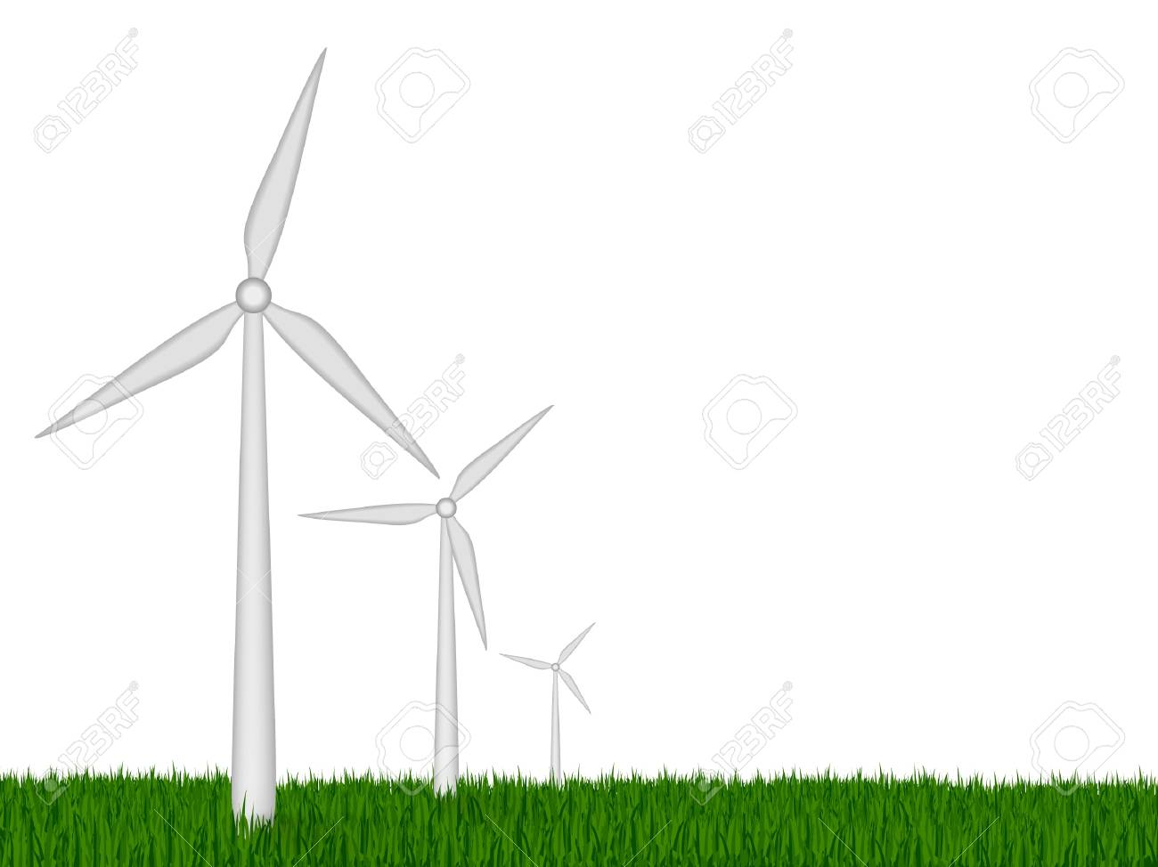 The concept of green energy Stock Vector - 15779824