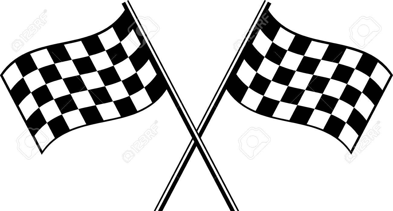 two black checkered flag crosswise royalty free cliparts vectors rh 123rf com checkered flag vector graphics checkered flag vector free