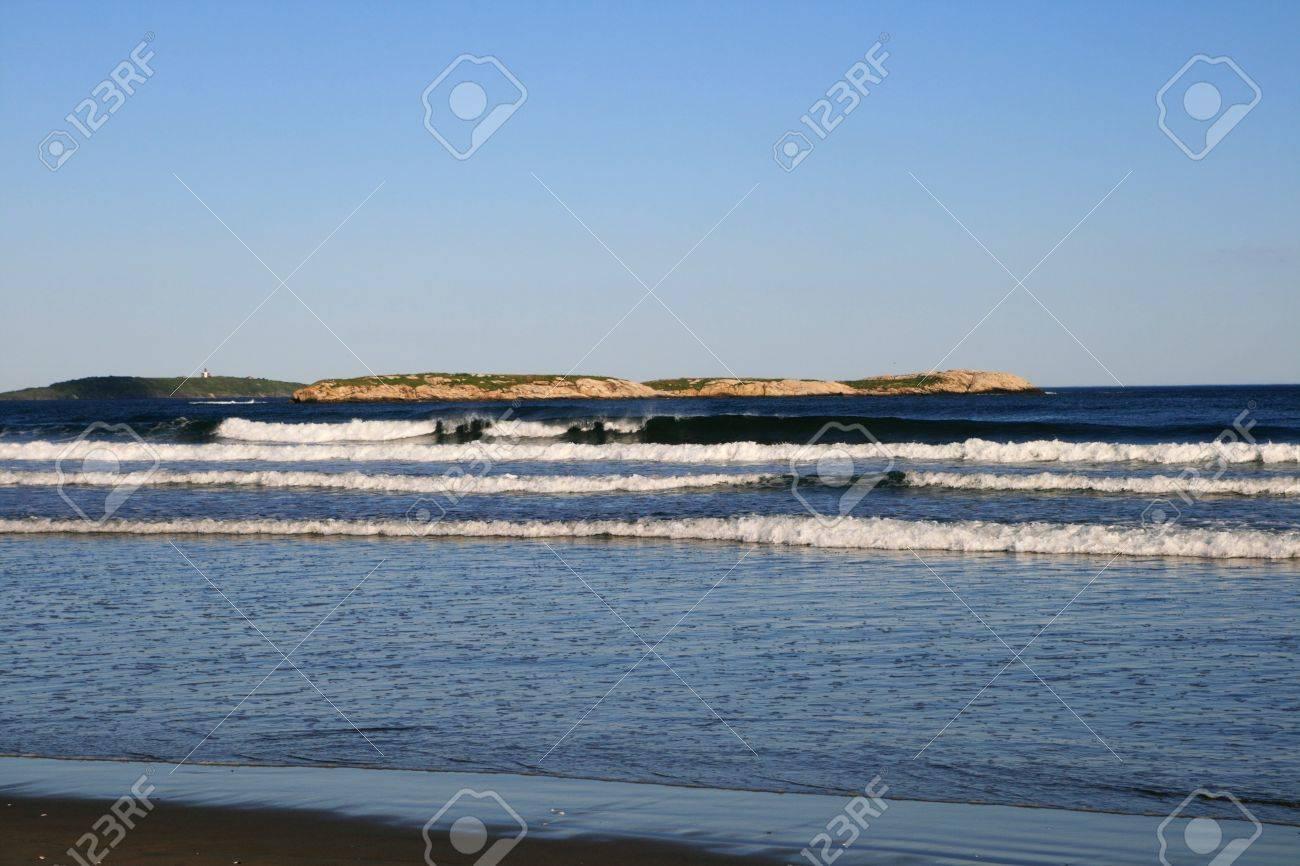 Maine coast beach just south of Popham beach near Bath Stock Photo - 7201867