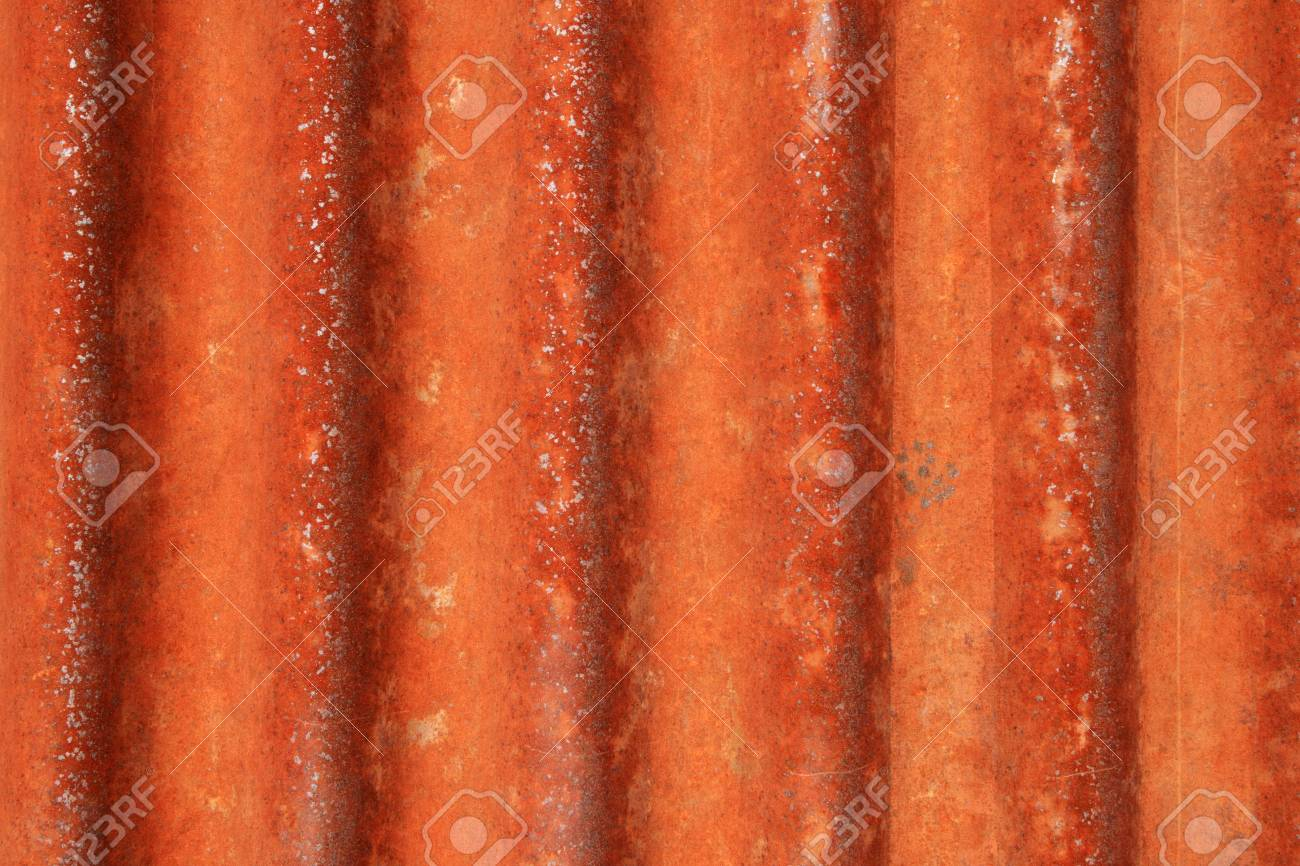 rusted grunge corrugated metal background texture Stock Photo - 8234421