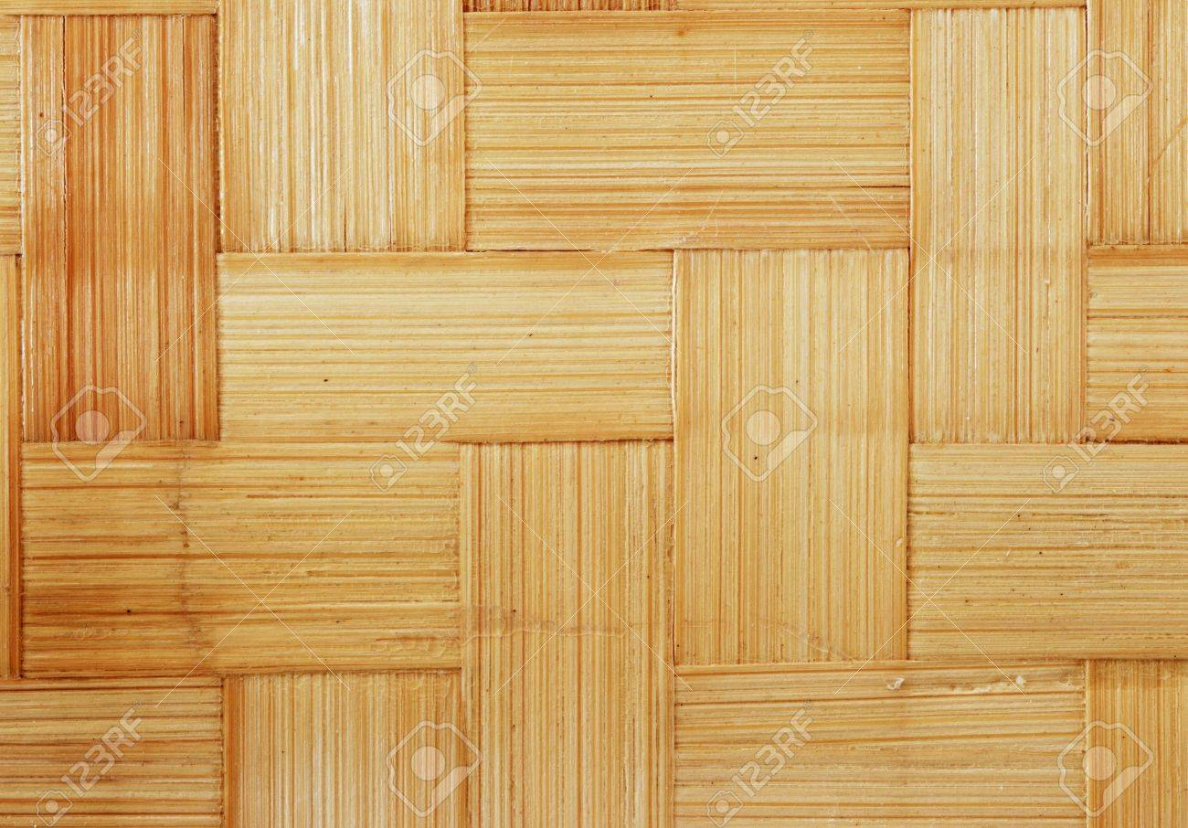 flat woven bamboo strips for background texture Stock Photo - 11454235