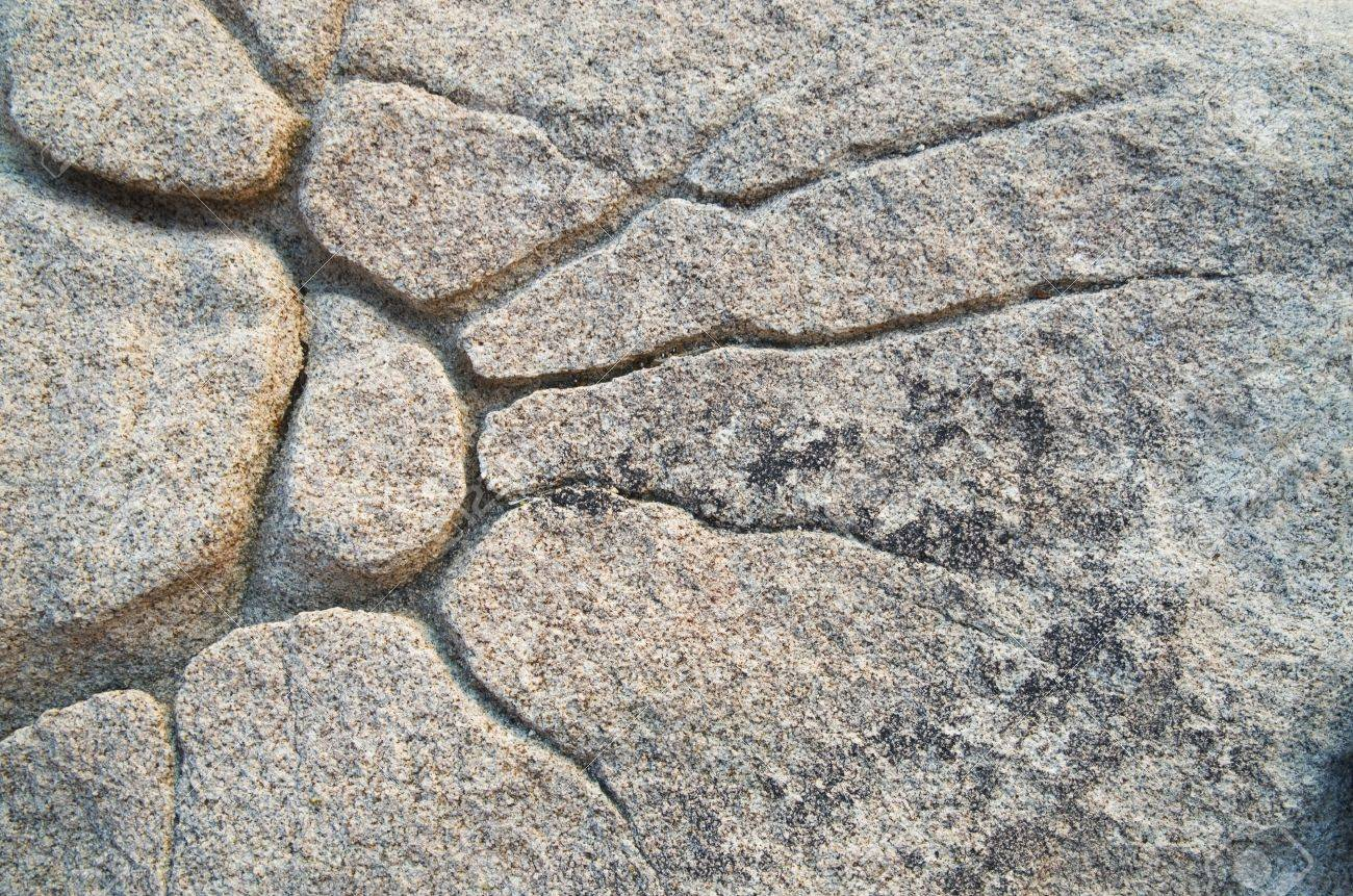 natural sunburst pattern eroded in granite rock Stock Photo - 16766125
