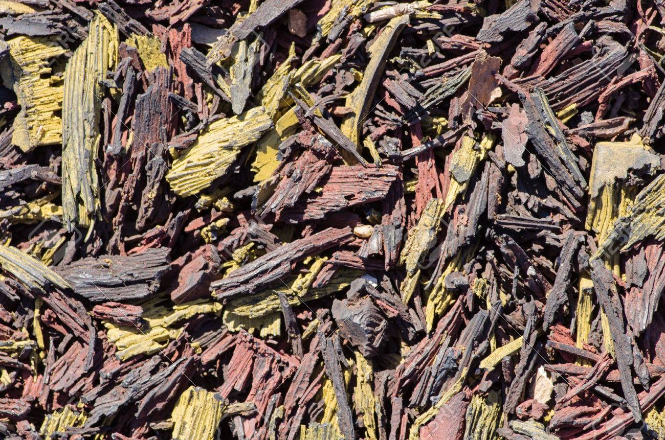 shredded rubber for playground padding texture Stock Photo - 23193246