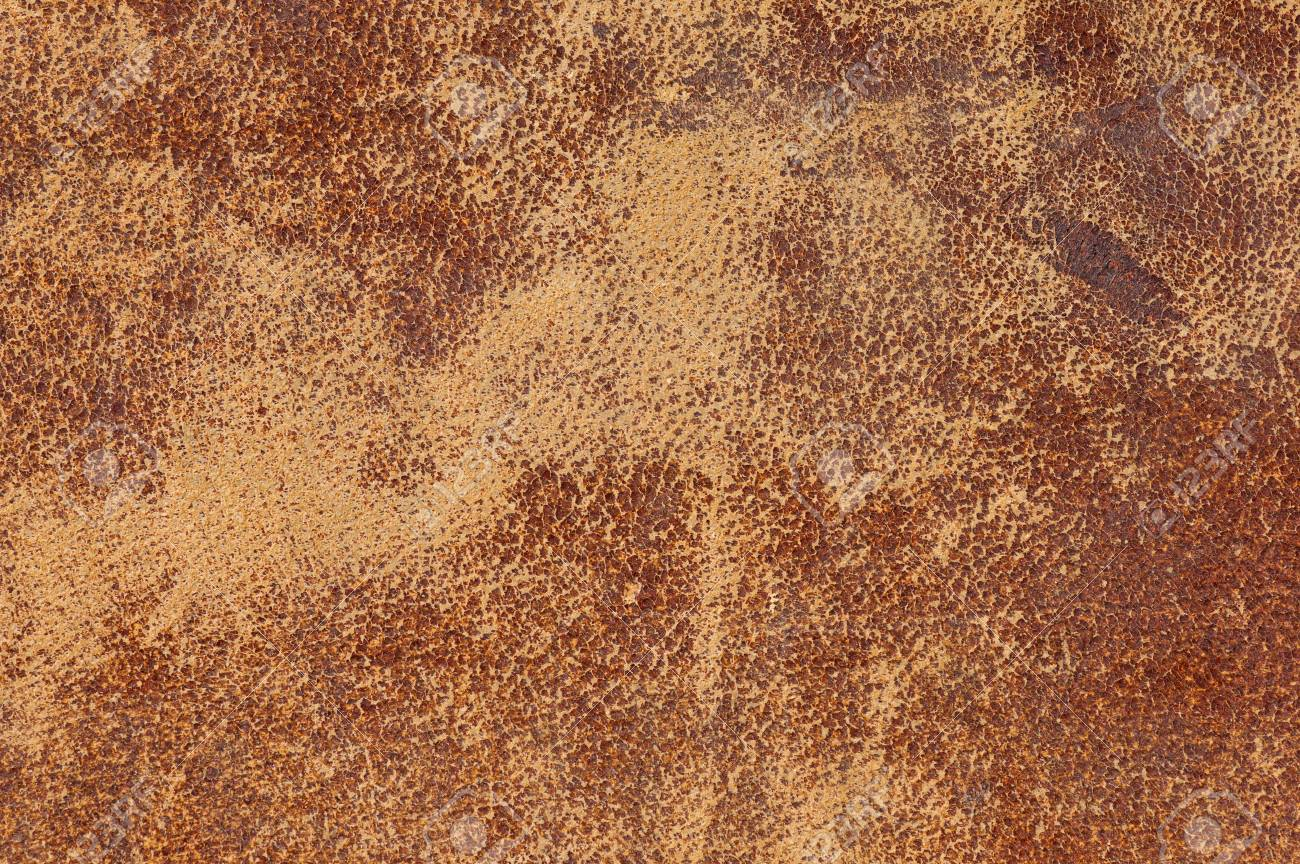 Old Distressed Worn Leather Background Texture Stock Photo