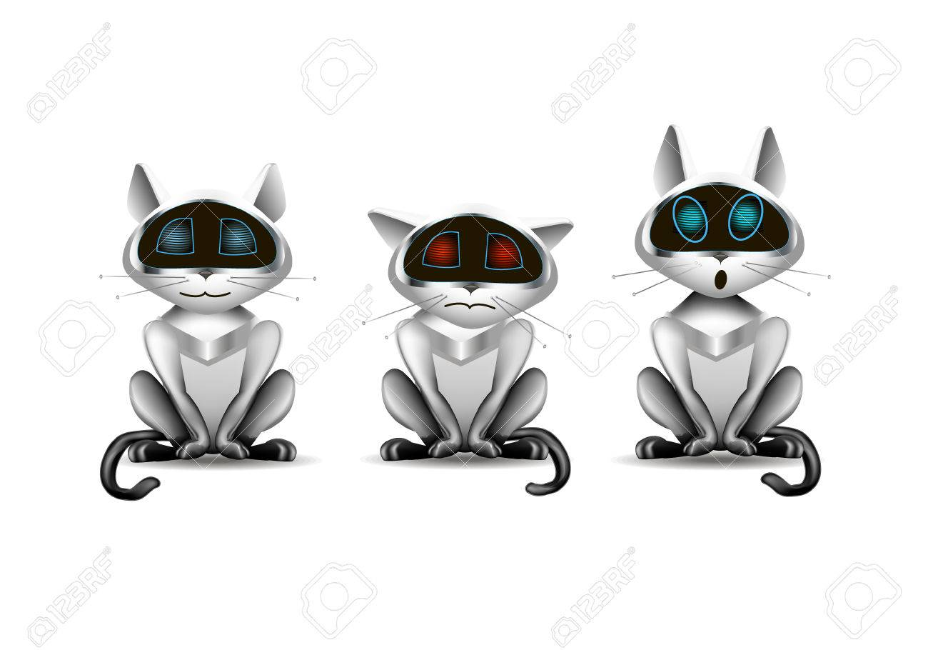 Robot Cat Toy >> Cat Toy Robot Royalty Free Cliparts Vectors And Stock Illustration