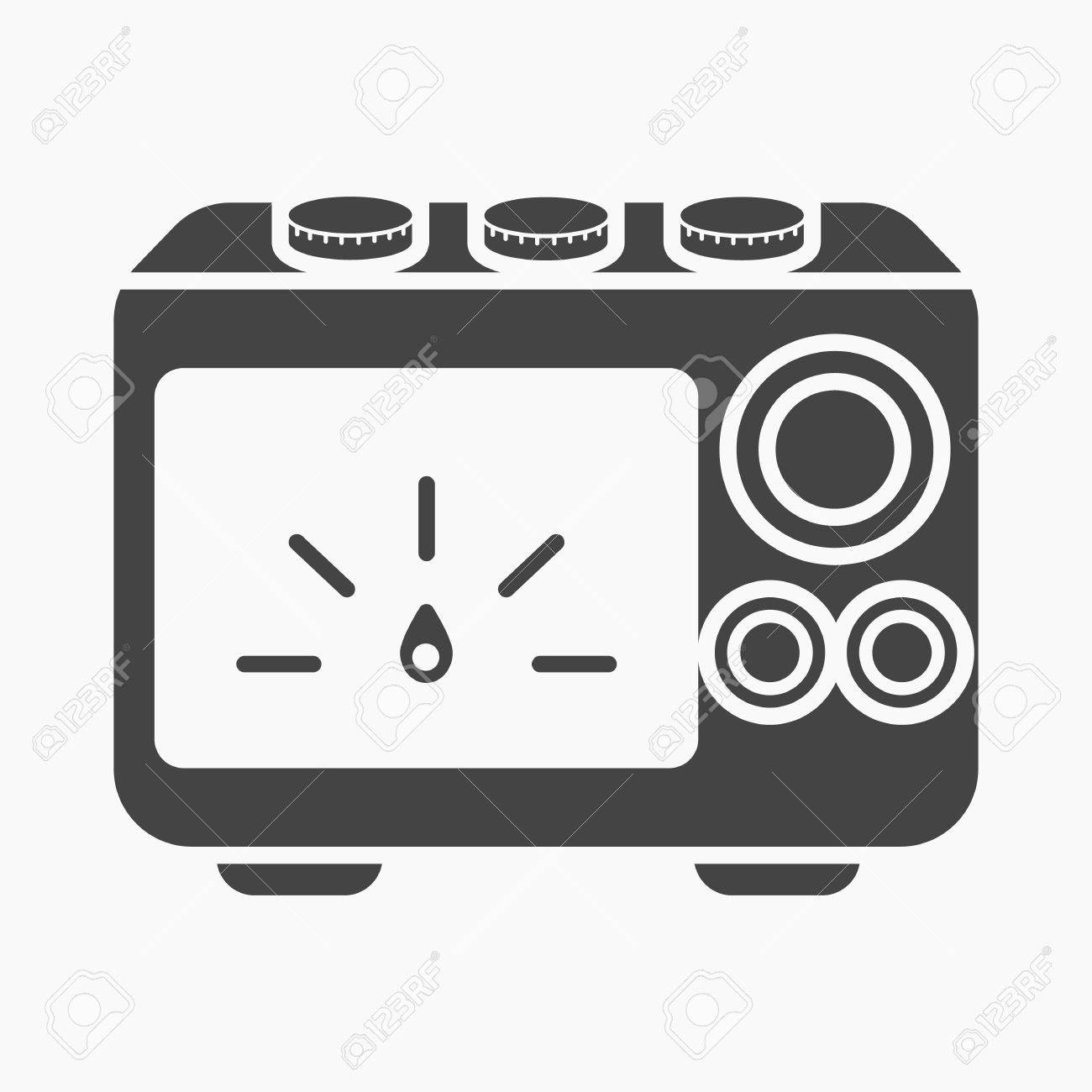 Power Supply Tattoo Icon Cartoon Single From The Big Studio Collection Stock