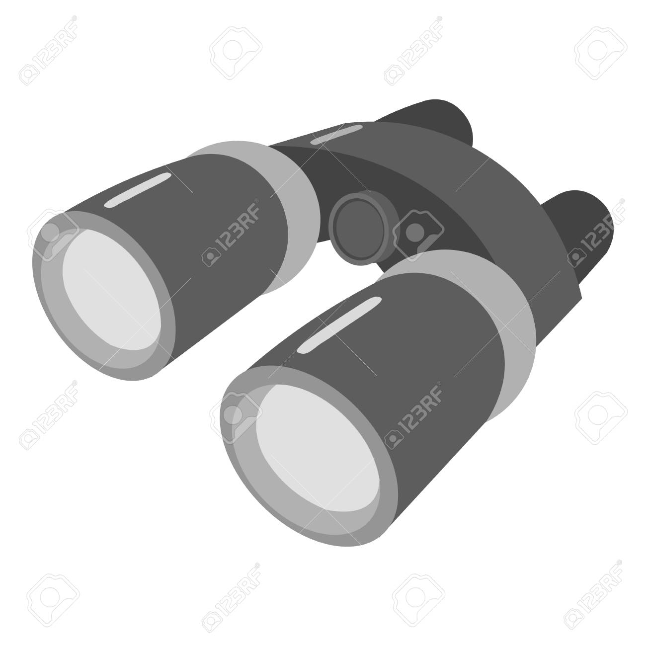 Binoculars icon of vector illustration for web and mobile design - 63725539