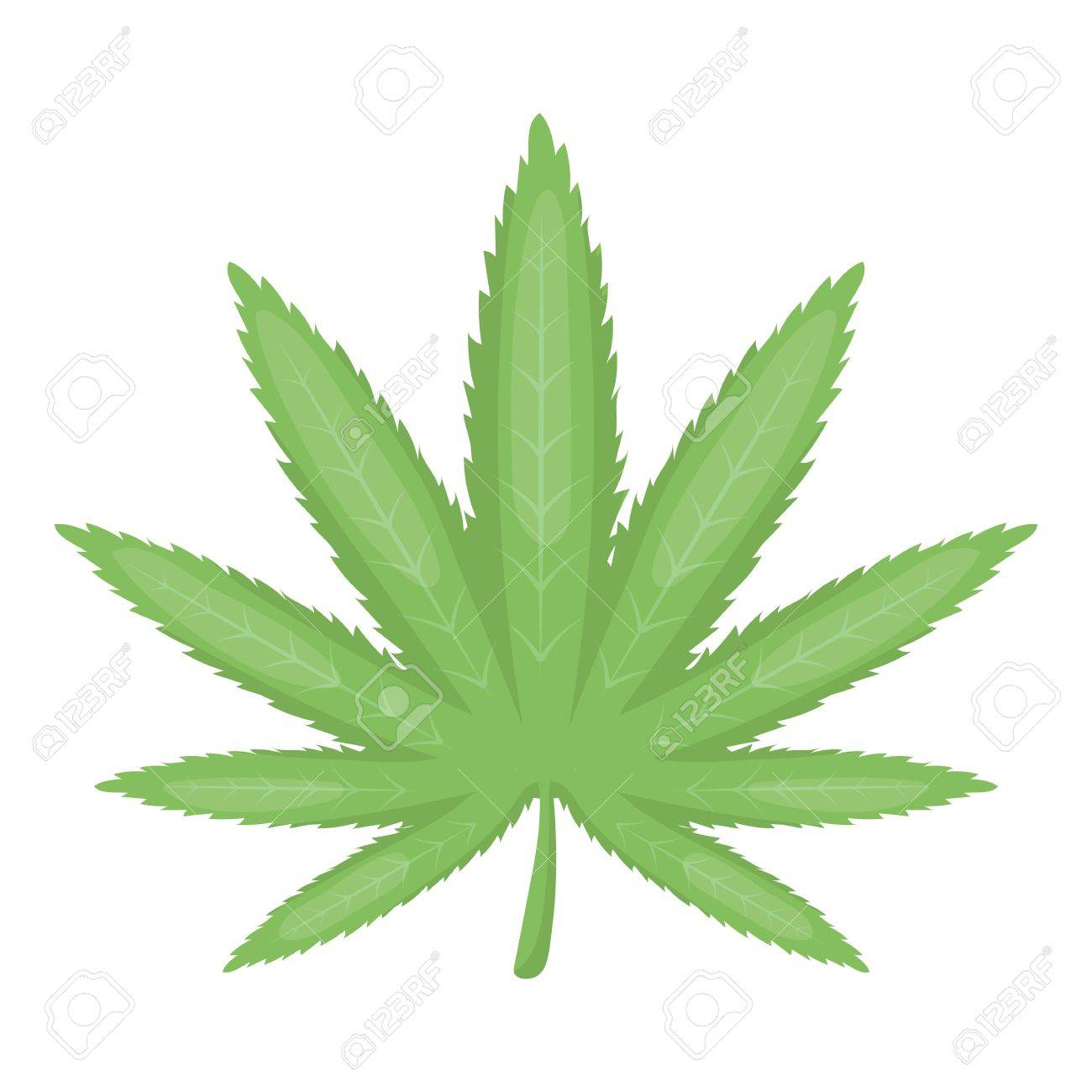 marijuana leaf icon in cartoon style isolated on white background rh 123rf com Simple Outline of Pot Leaf cartoon pot leaf tattoos