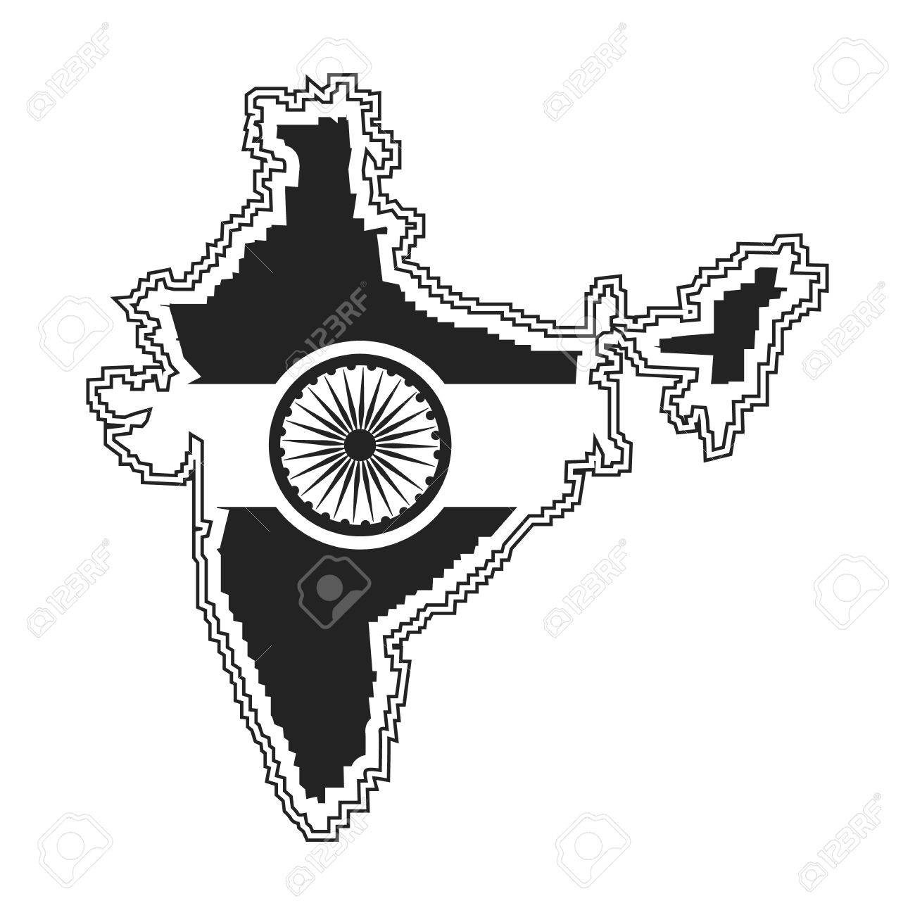 Indian Territory Icon In Black Style Isolated On White Background Royalty Free Cliparts Vectors And Stock Illustration Image 67670554