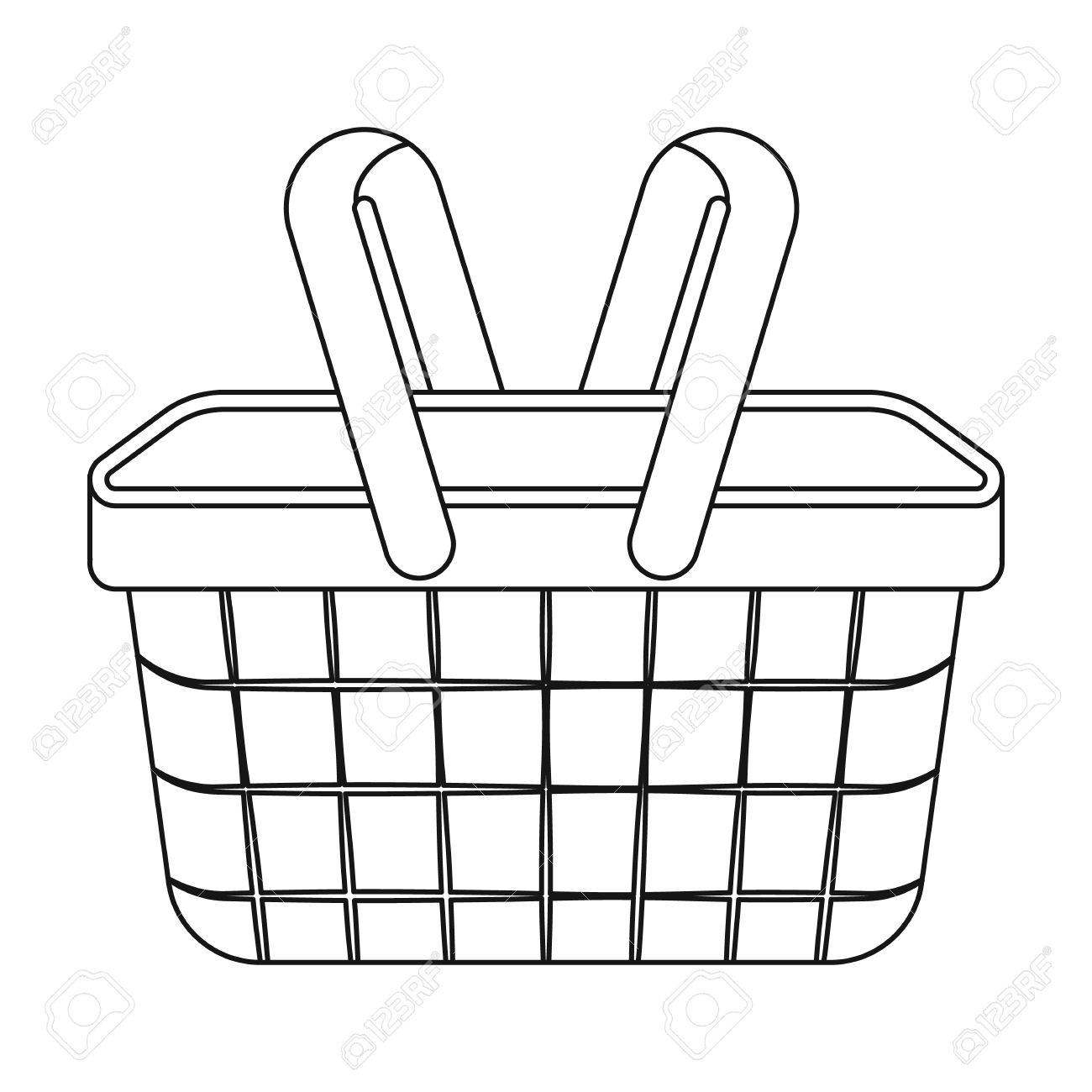 Gift basket picnic basket clipart t hamper pencil and in color picnic -  WikiClipArt