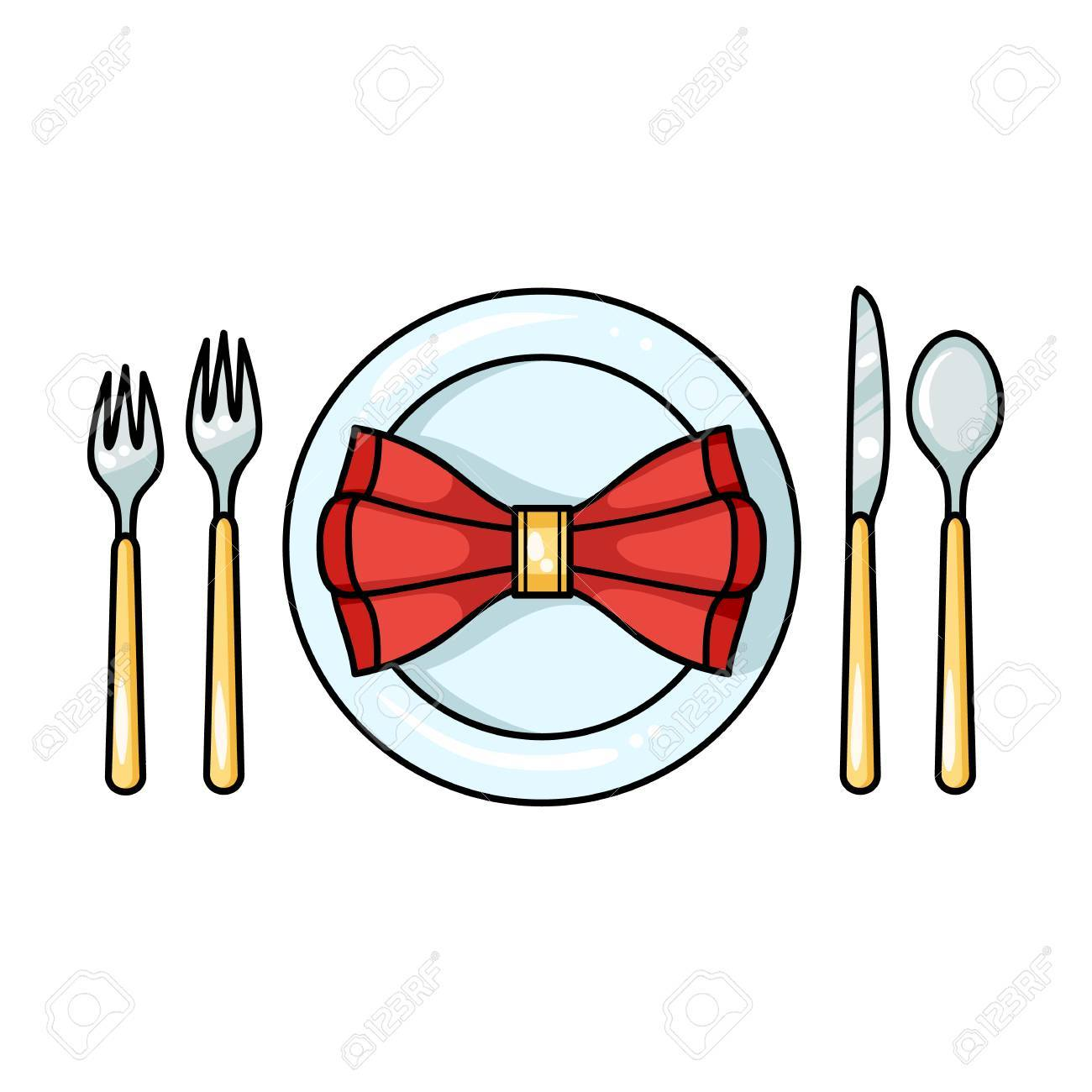 Dessin Restaurant restaurant table cartoonting icon in cartoon style isolated on