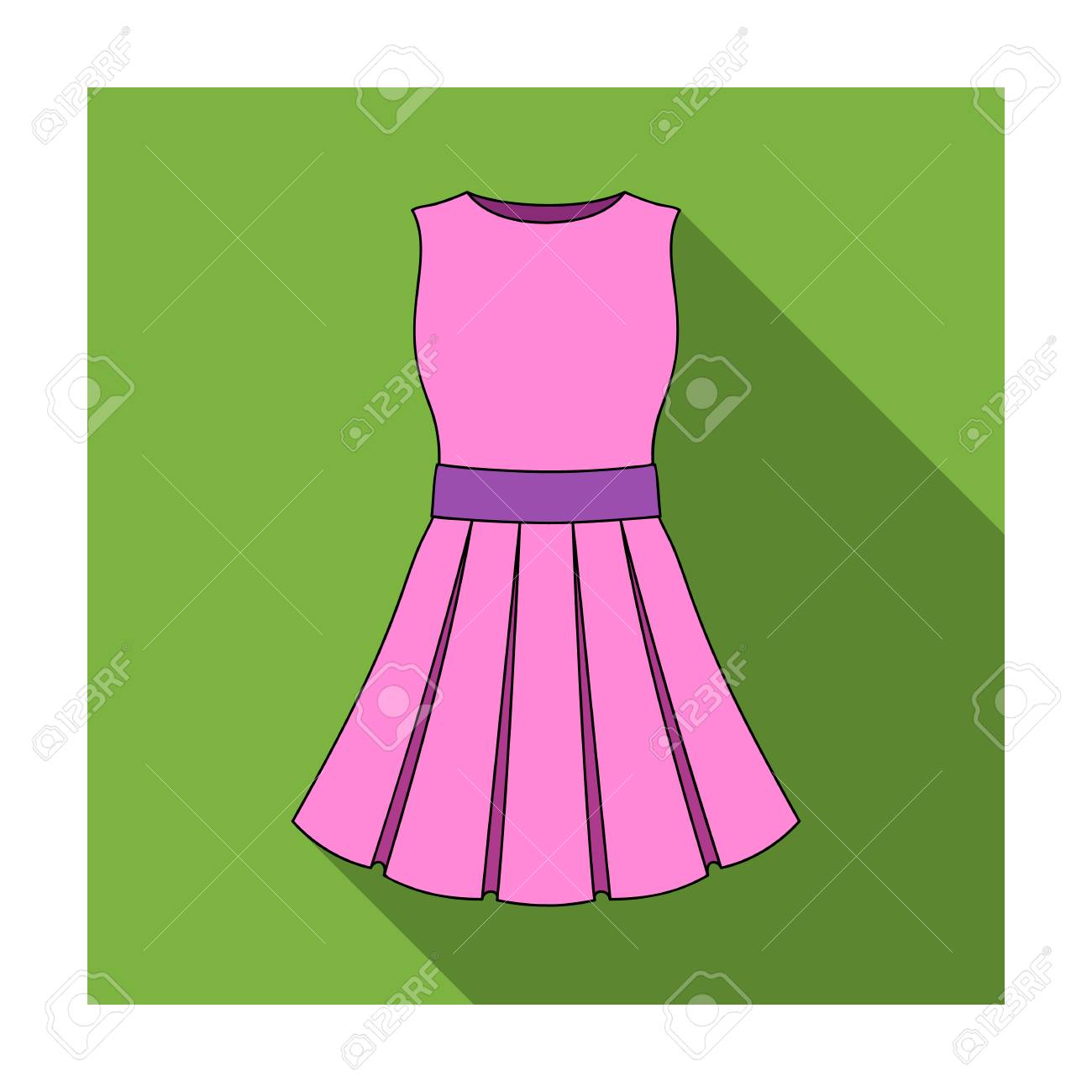 7f8dee5ee85 Beautiful light pink summer dress without sleeves. Clothing for a hike to  the beach.