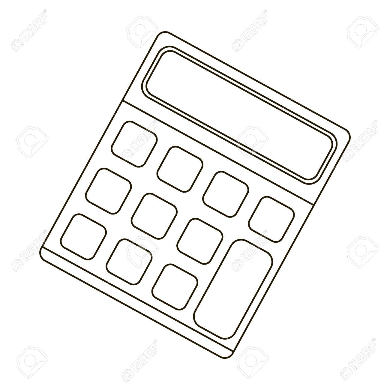 calculator machine to quickly count data math school and Doctor Office Icon calculator machine to quickly count data math school and education single icon in