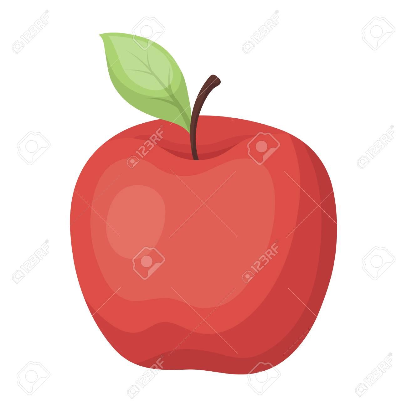 Maca Vermelha Lanche Na Escola Almoco Na Ruptura Escola E