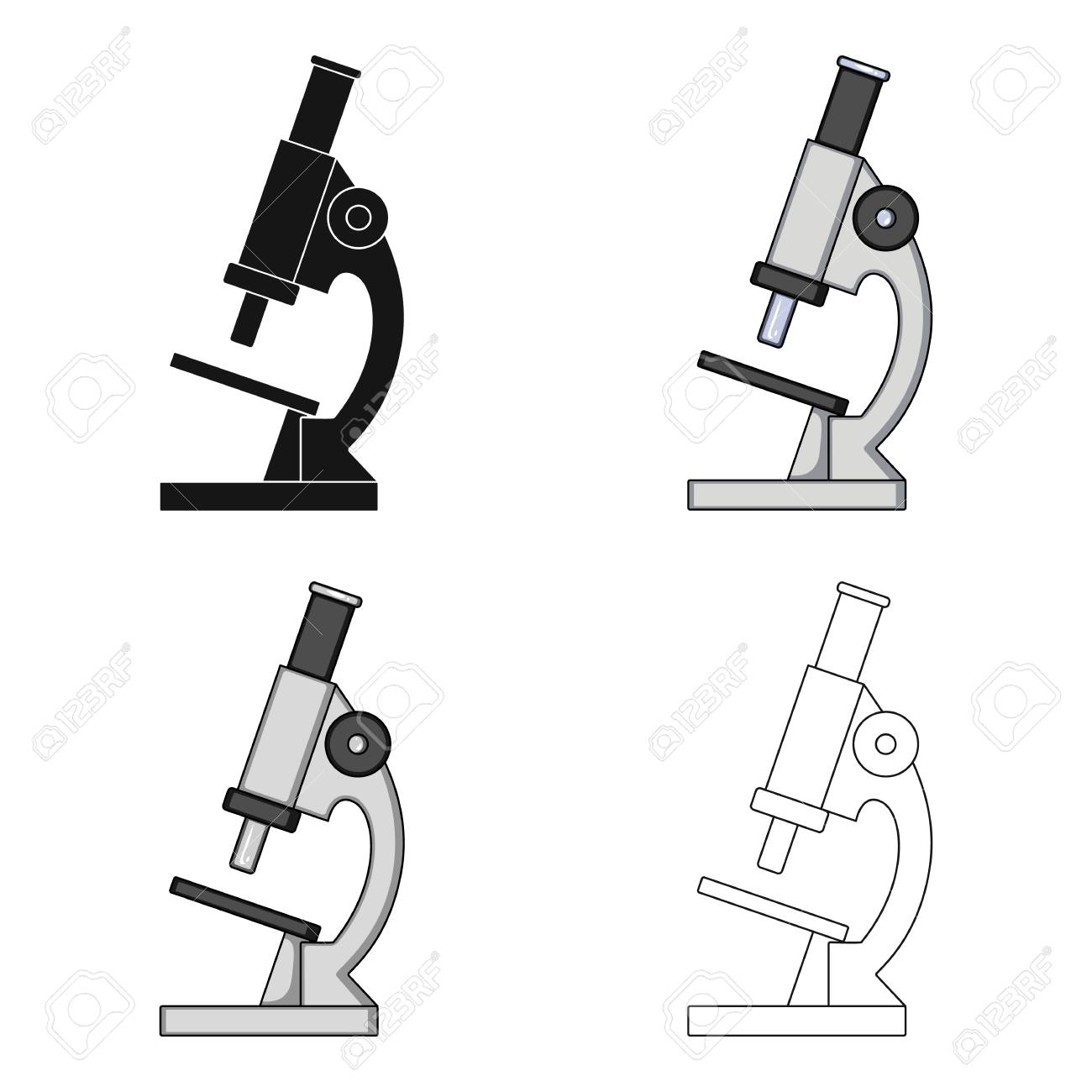 microscope medicine single icon in cartoon style vector symbol royalty free cliparts vectors and stock illustration image 77226590 microscope medicine single icon in cartoon style vector symbol