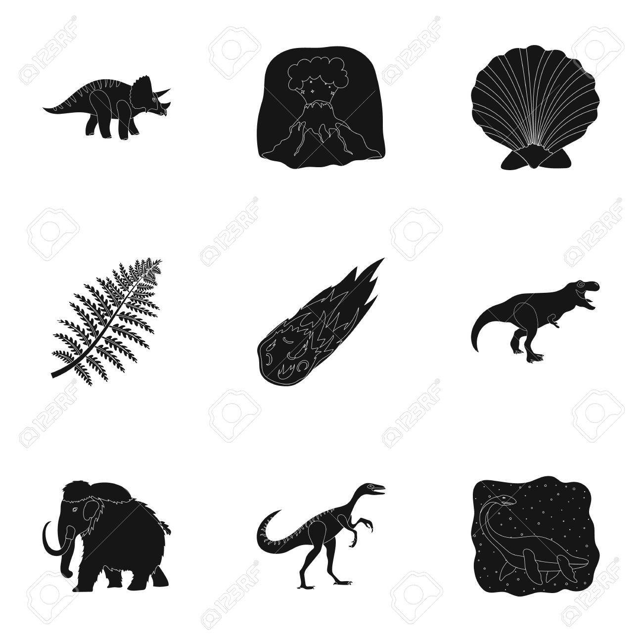 Image of: Fauna Ancient Extinct Animals And Their Tracks And Remains Dinosaurs Tyrannosaurs Pnictosaursdinisaurs 123rfcom Ancient Extinct Animals And Their Tracks And Remains Dinosaurs