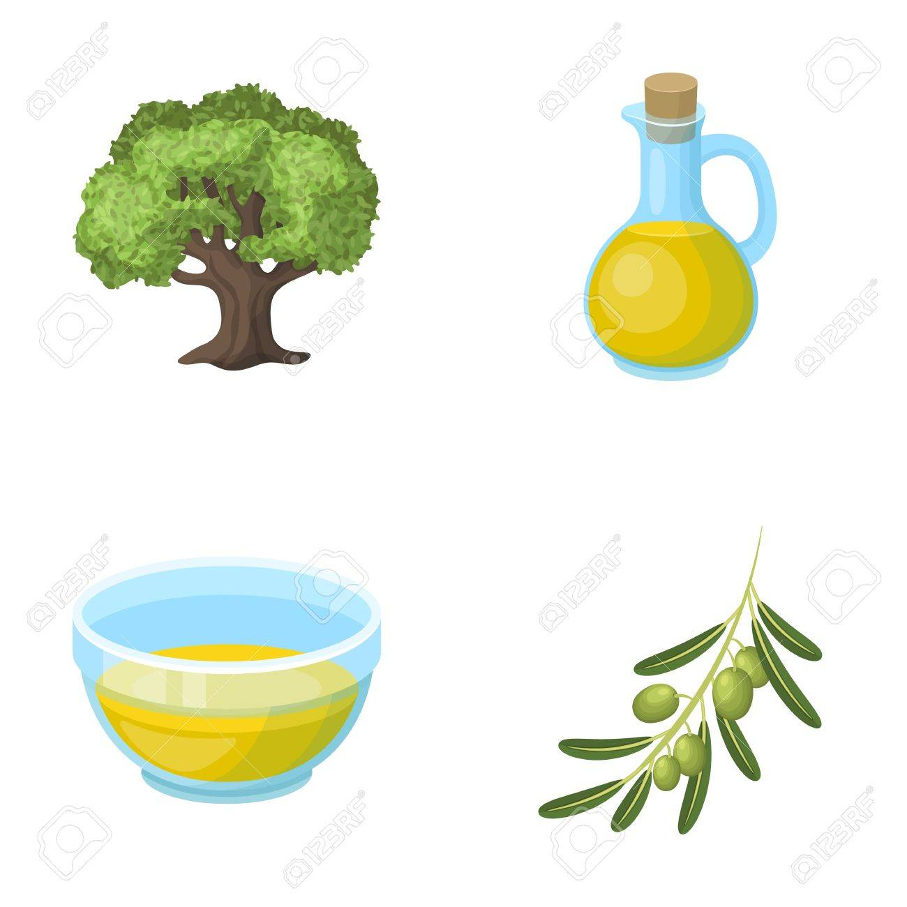 An olive tree a branch with olives a vessel and a jug of oil an olive tree a branch with olives a vessel and a jug of oil buycottarizona Choice Image
