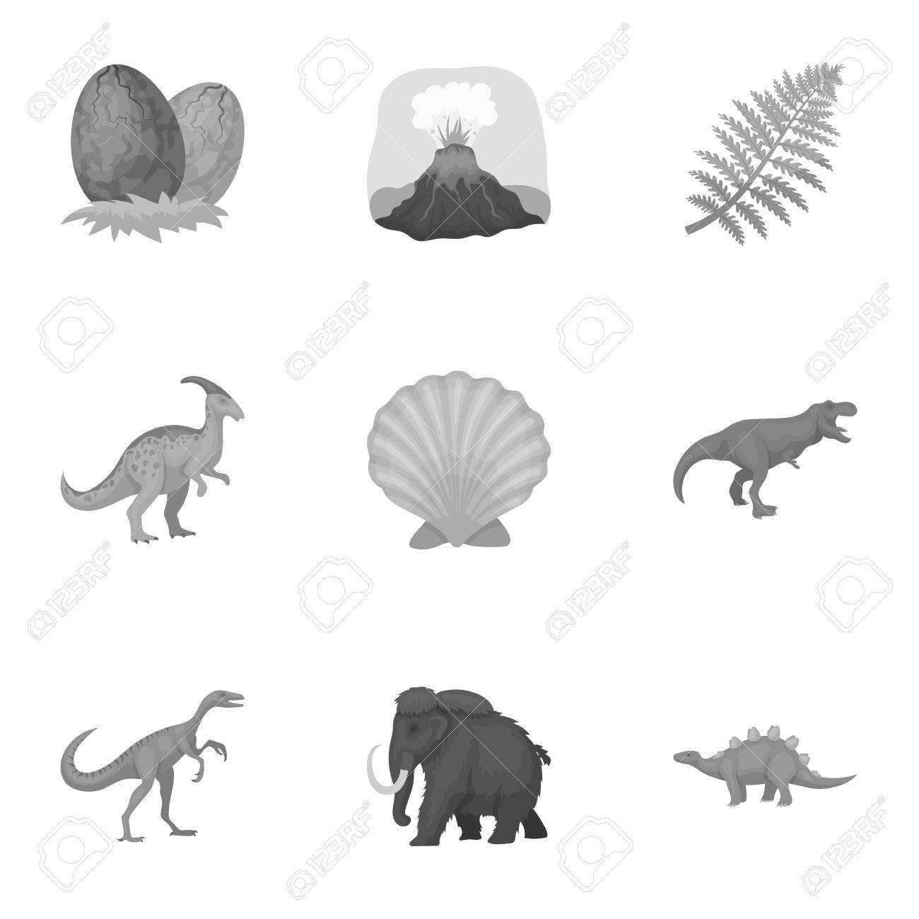 Image of: Glad Ancient Extinct Animals And Their Tracks And Remains Dinosaurs Tyrannosaurs Pnictosaursdinisaurs 123rfcom Ancient Extinct Animals And Their Tracks And Remains Dinosaurs