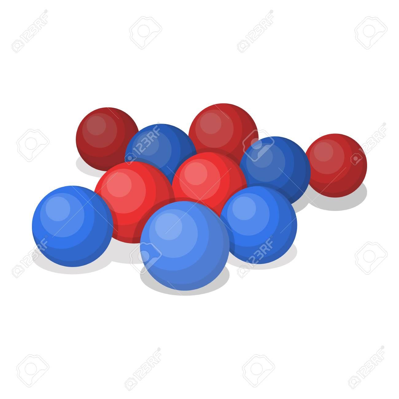 Bolas Para Paintballpaintball Icono único En Estilo De Dibujos