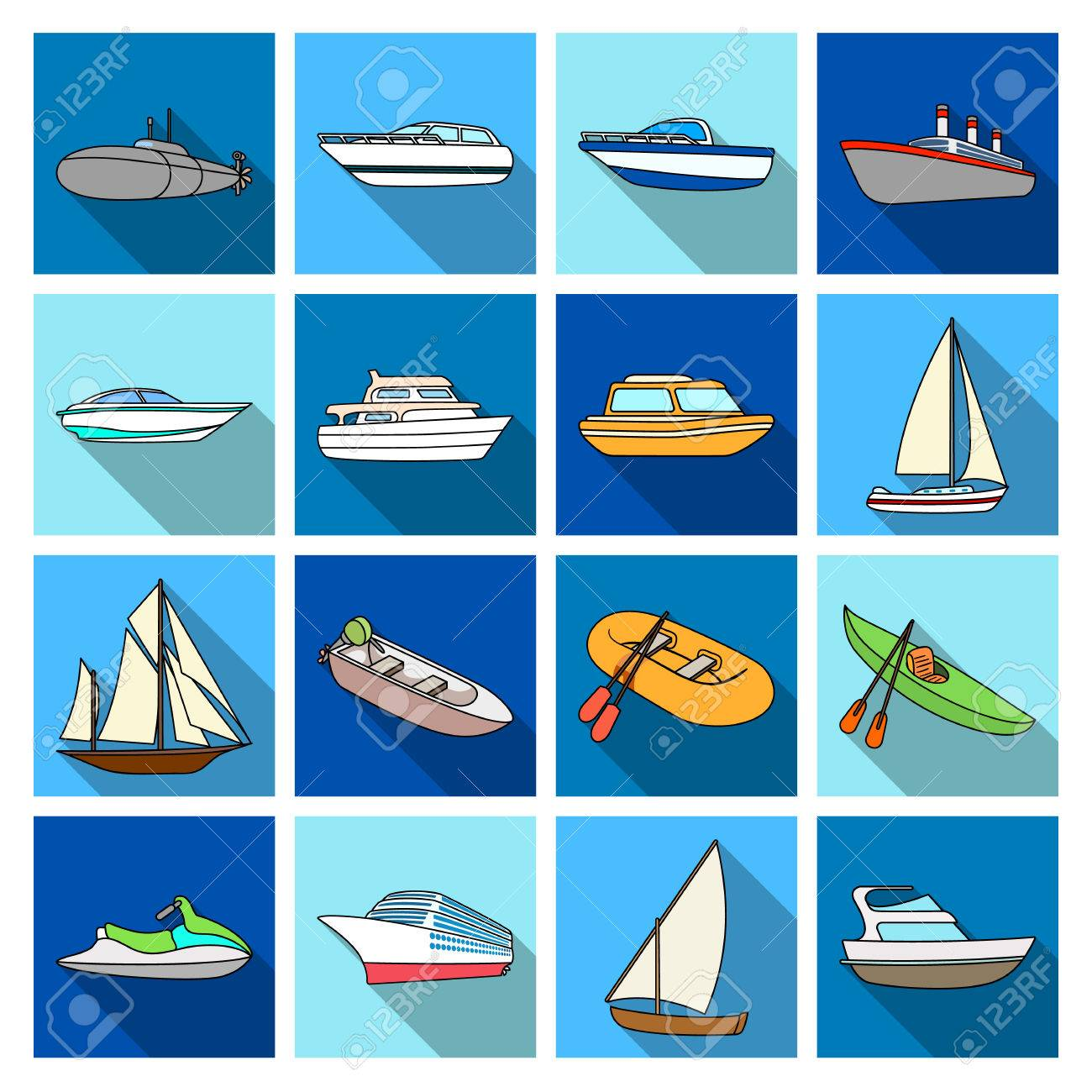 Yacht, boat, liner, types of ship and water transport  Ship and