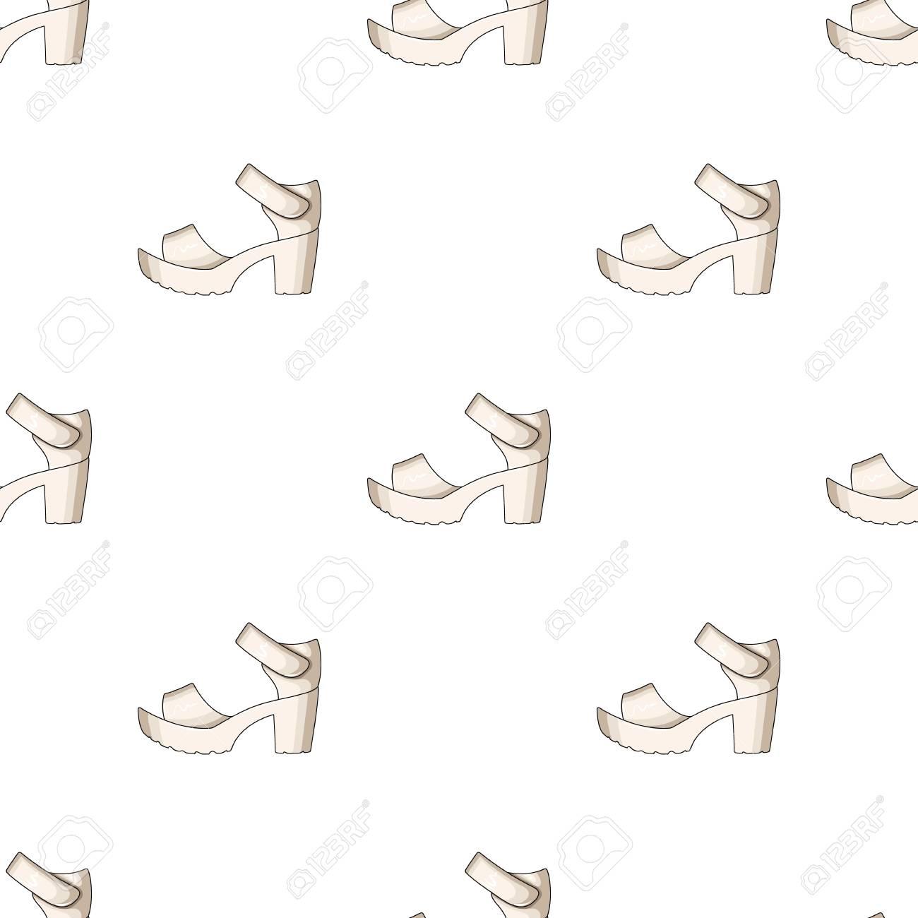 différent Chaussures Femmes Blanches D'été Sur Un Sandales Pied Nu qVSUzMpG
