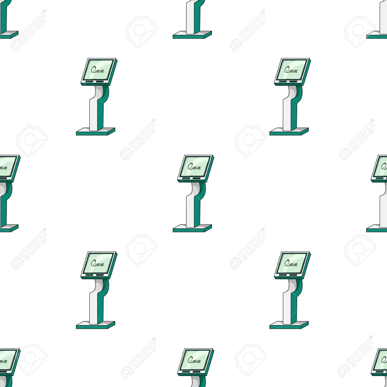 Queue access terminal terminals single icon in cartoon style queue access terminal terminals single icon in cartoon style isometric vector symbol stock illustration ccuart Images