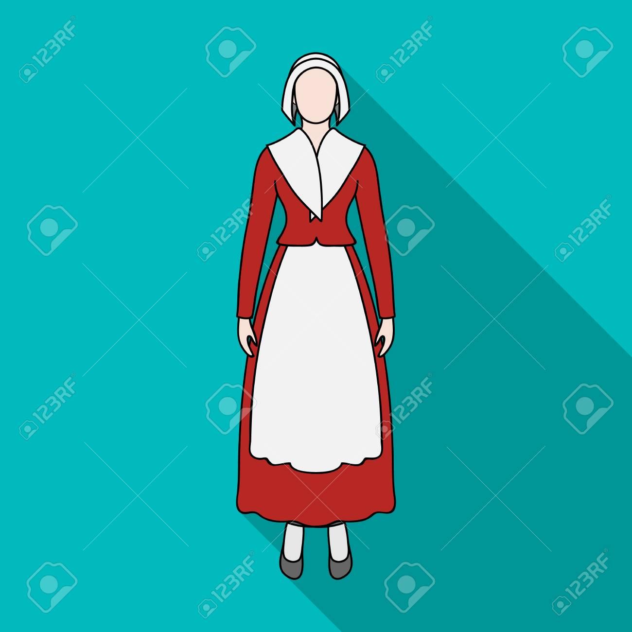 女の子単一フラット スタイルのアイコン女の子ベクター シンボル