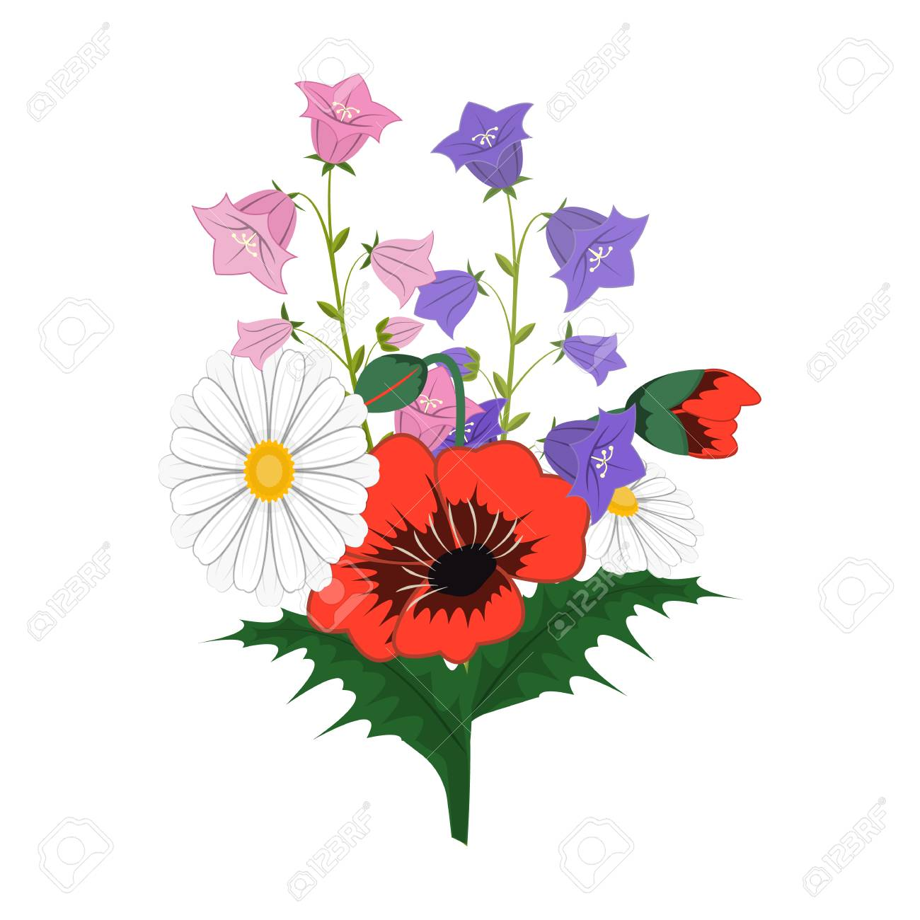 A bouquet of fresh flowers single icon in cartoon style for design a bouquet of fresh flowers single icon in cartoon style for design bouquet vector symbol izmirmasajfo Choice Image