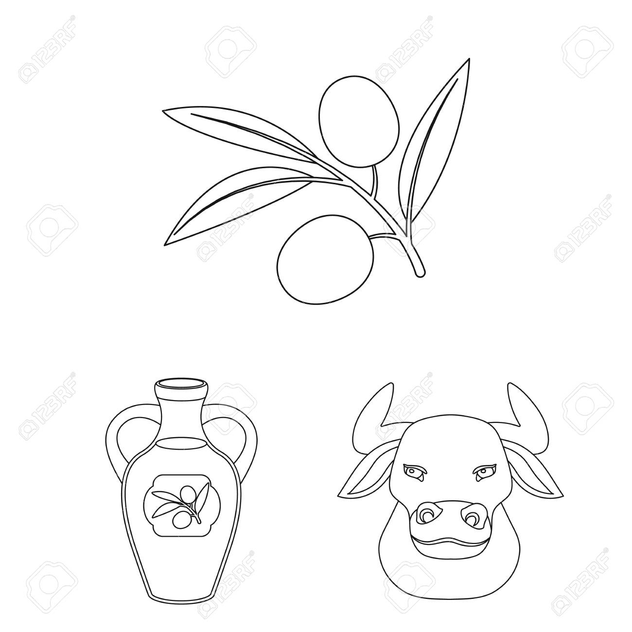 spain country outline icons in set collection for design travel Dominica Country Outline spain country outline icons in set collection for design travel and attractions vector symbol stock