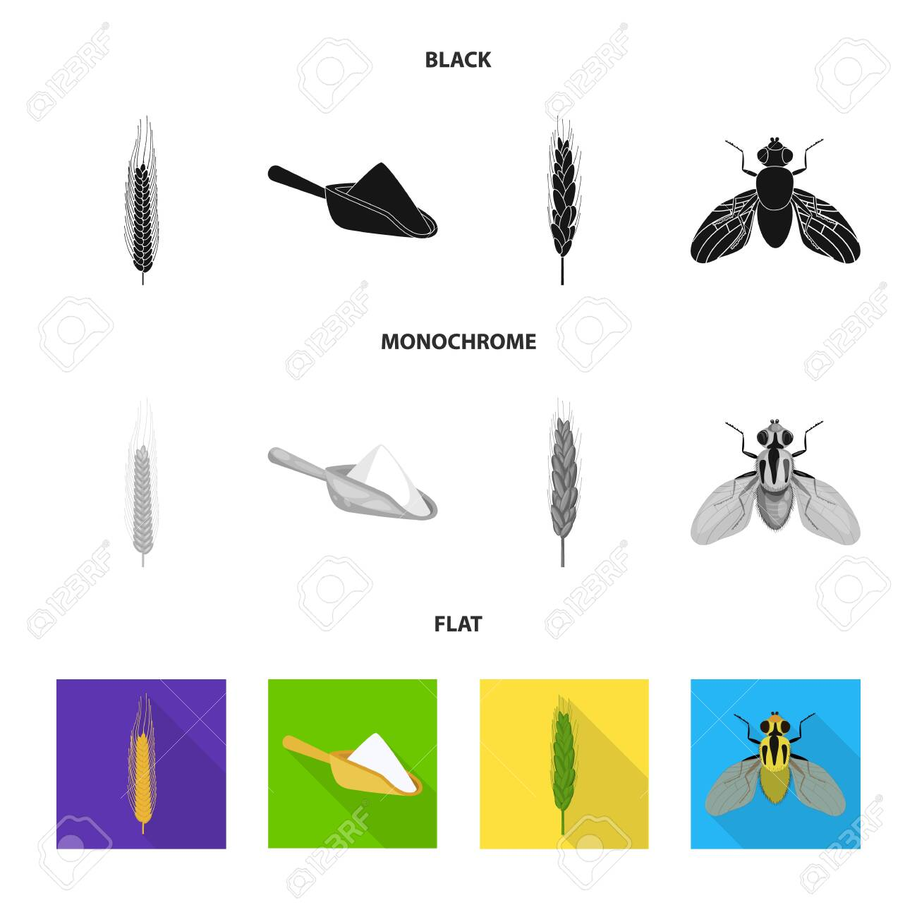 128967621-bitmap-illustration-of-agriculture-and-farming-symbol-collection-of-agriculture-and-plant-stock-symb.jpg