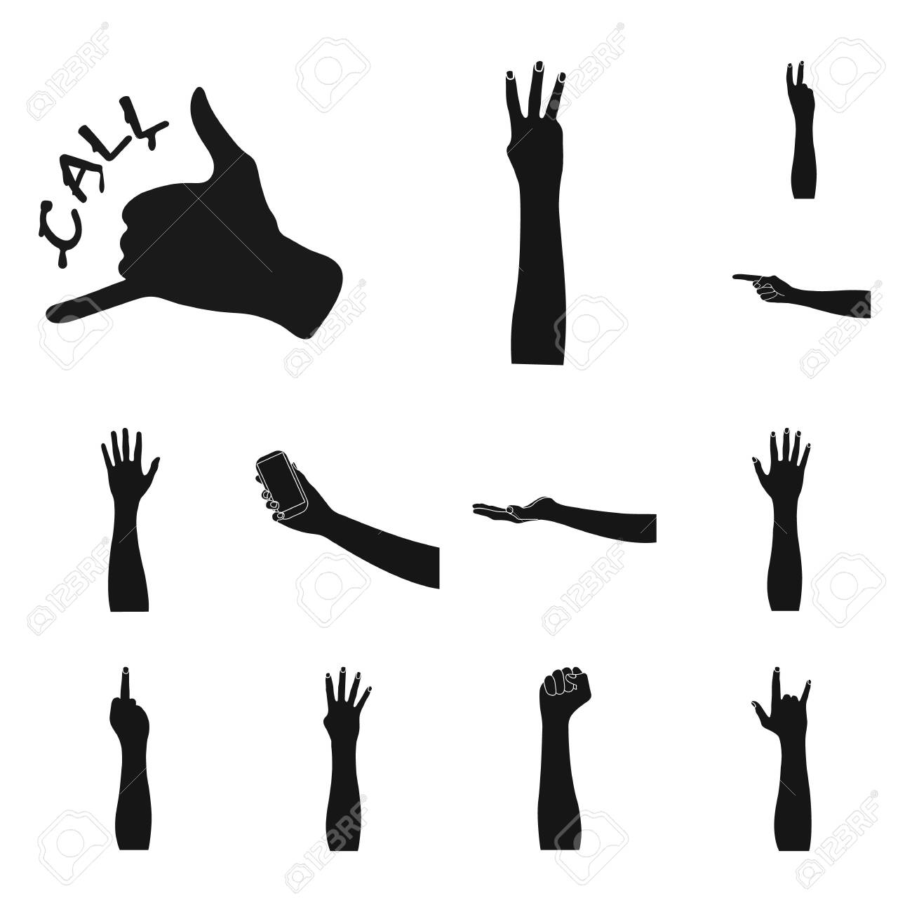Isolated Object Of Animated And Thumb Icon Set Of Animated And Stock Photo Picture And Royalty Free Image Image 128967533 Newpremiumbuilder animated icons | premiere pro extension. 123rf com