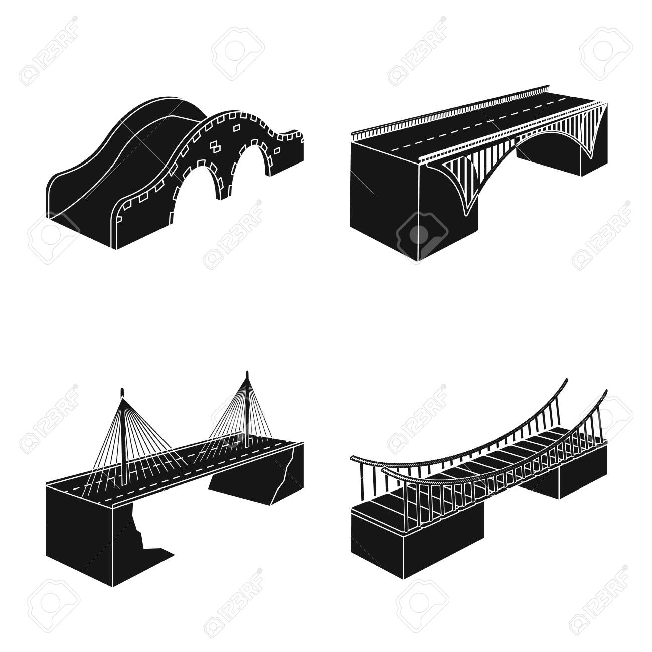 Isolated object of construct and side . Set of construct and architecture stock symbol for web. - 143495929